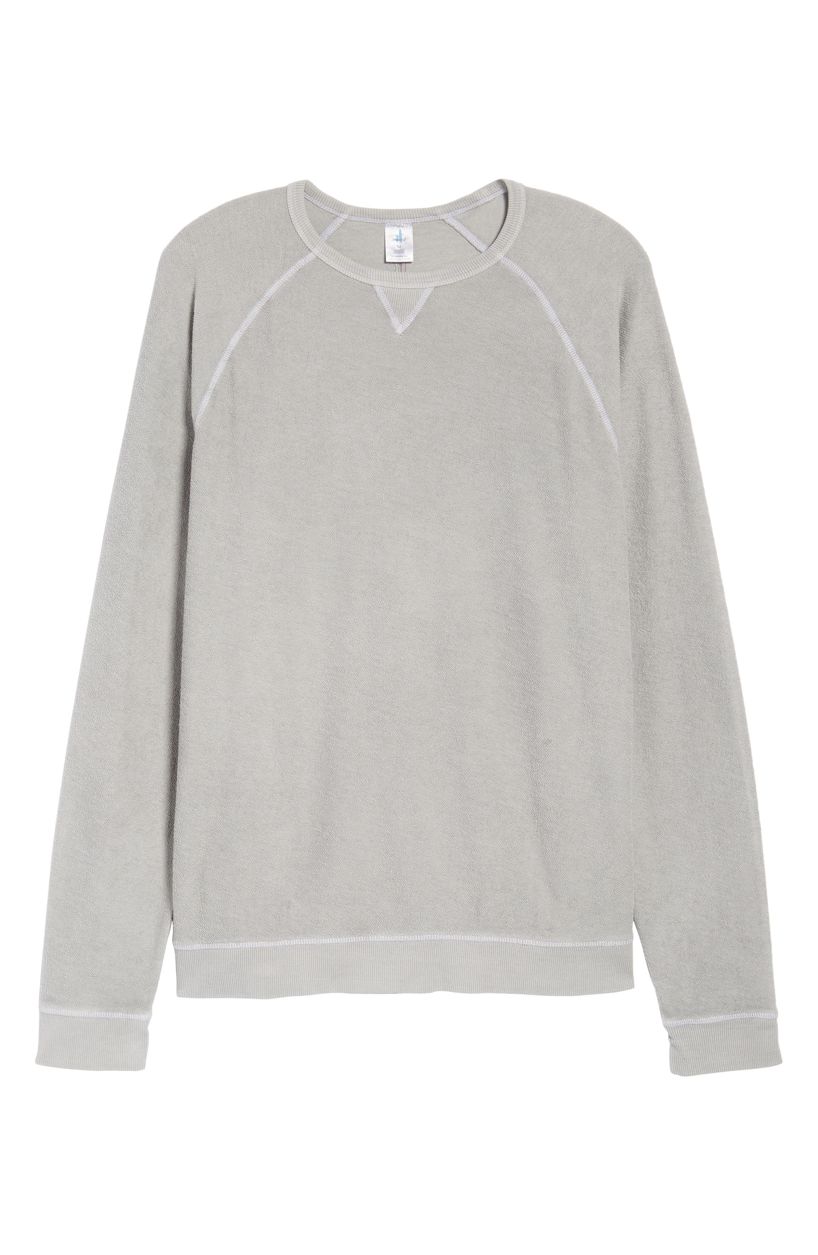 JOHNNIE-O,                             Mason Regular Fit Sweatshirt,                             Alternate thumbnail 6, color,                             053
