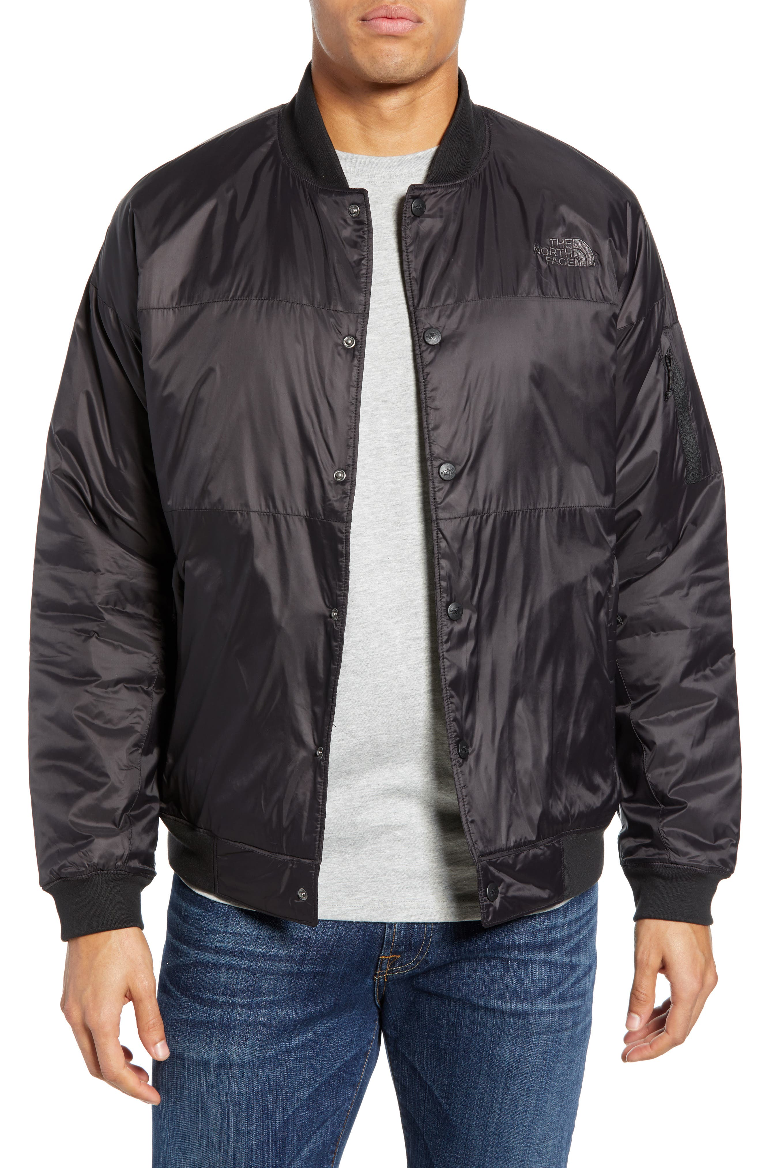 The North Face Presley Insulated Bomber Jacket, Black