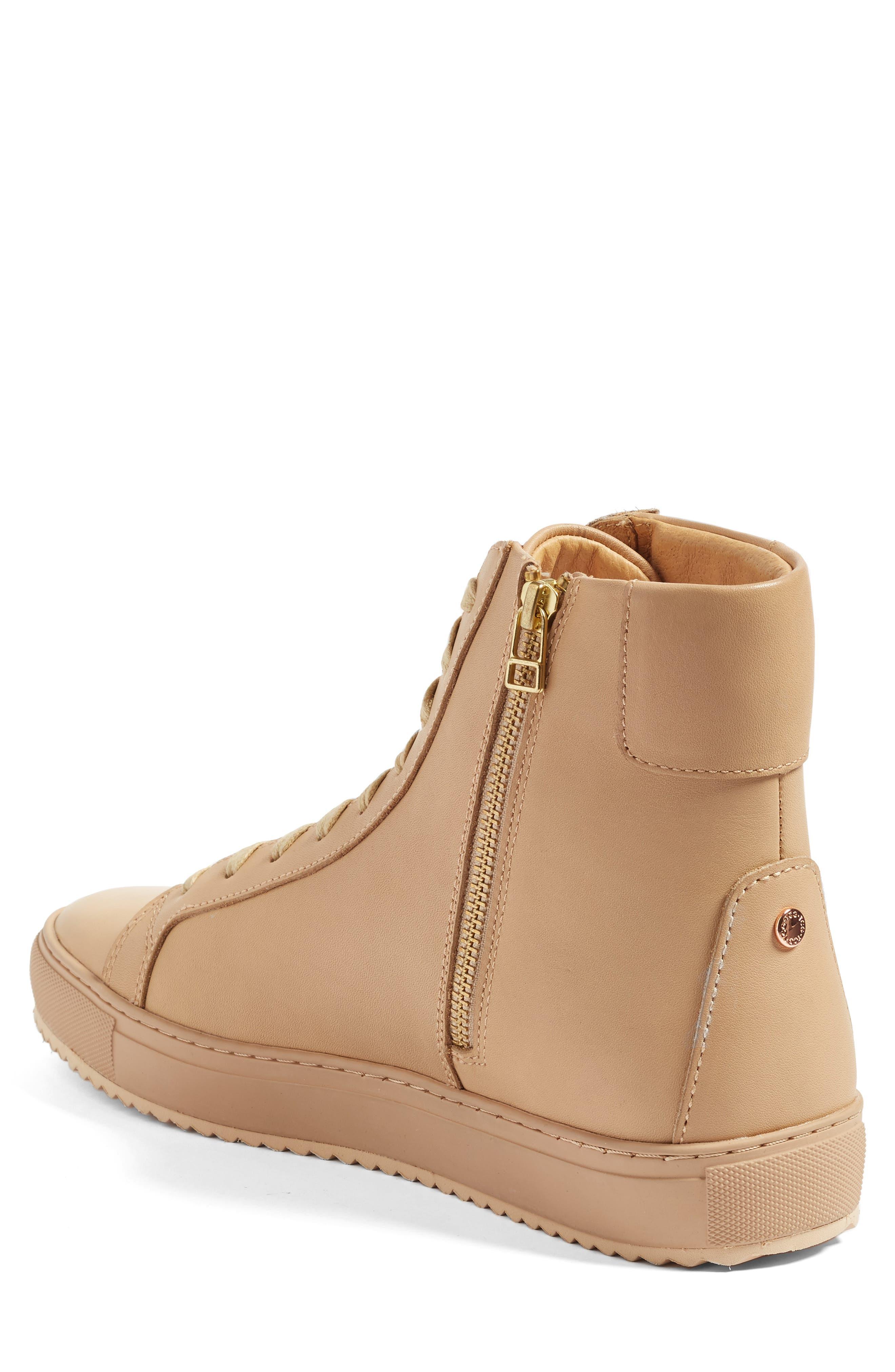 Logan Water Resistant High Top Sneaker,                             Alternate thumbnail 8, color,