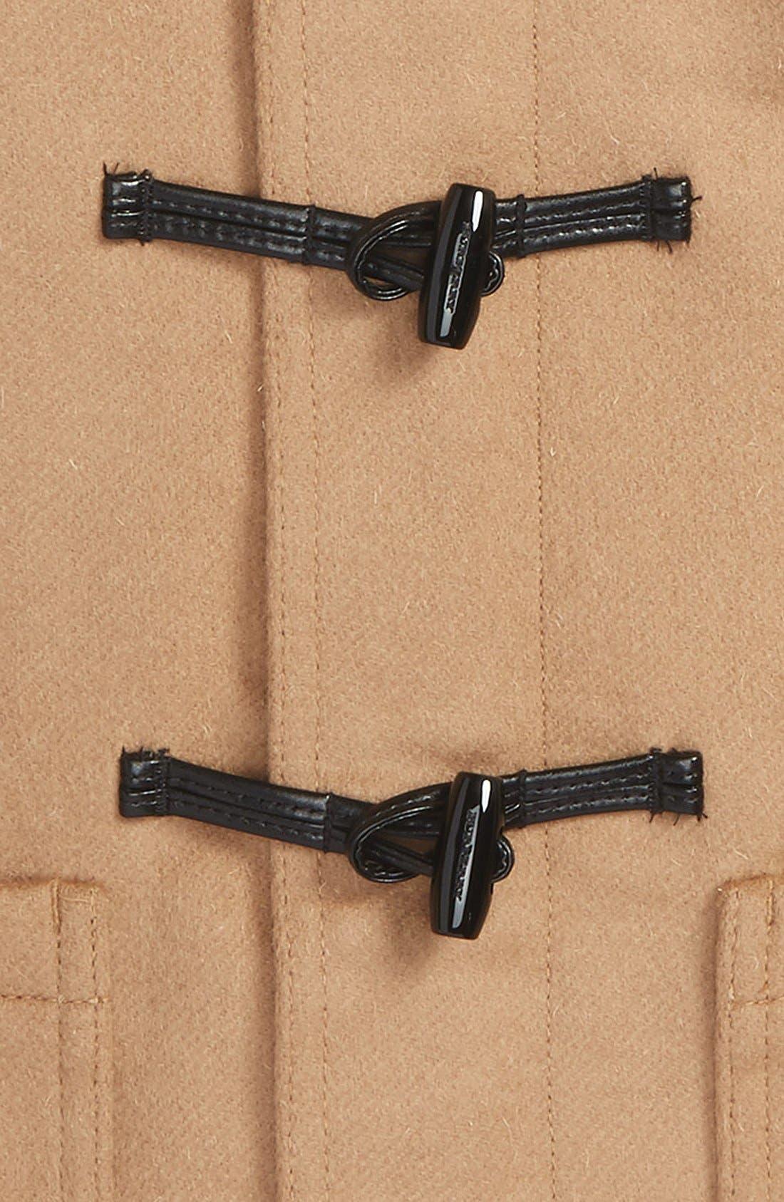 'Brogan' Hooded Wool Toggle Coat,                             Alternate thumbnail 2, color,                             250
