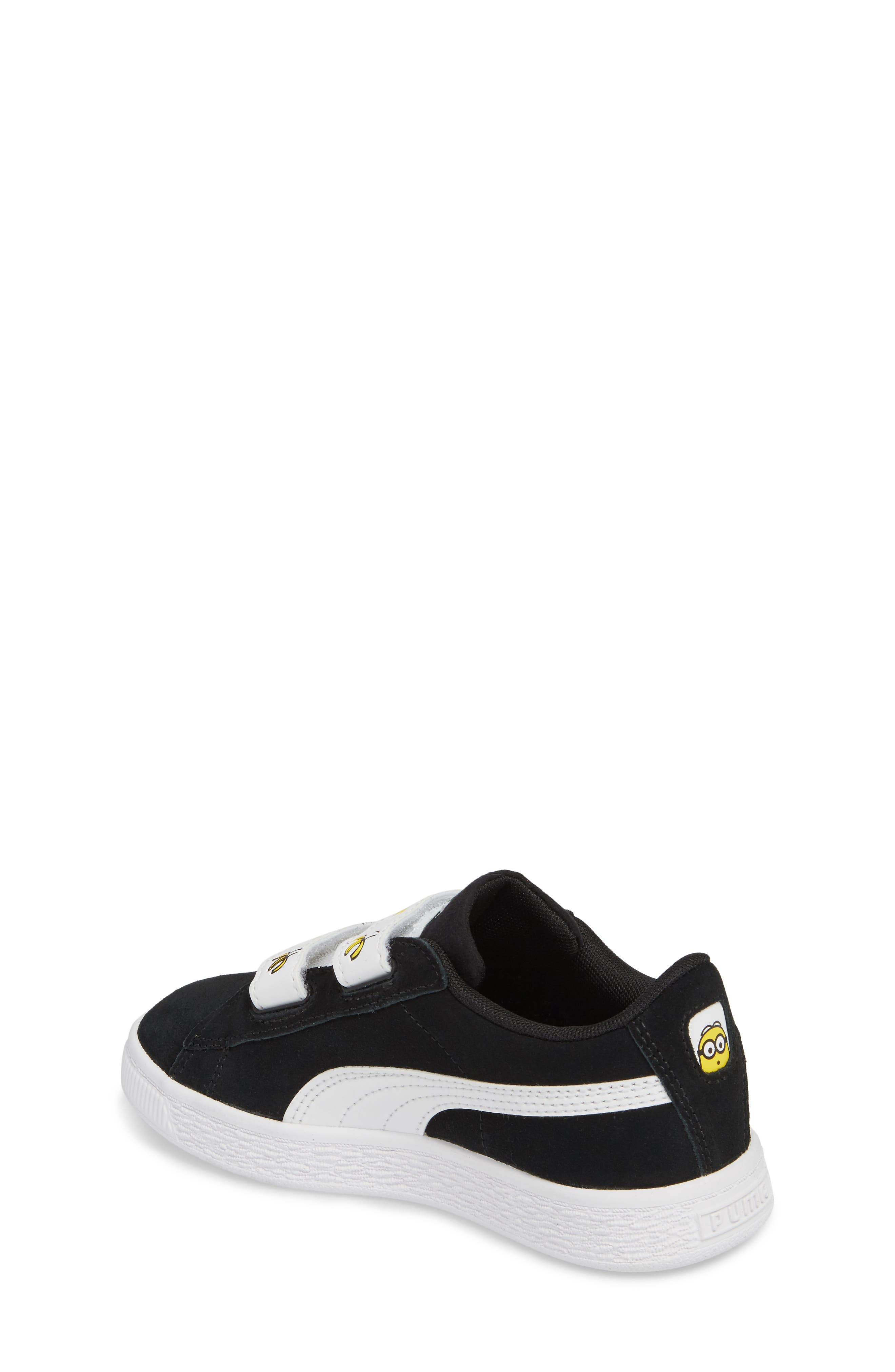 x Minions Suede V Sneaker,                             Alternate thumbnail 2, color,                             001