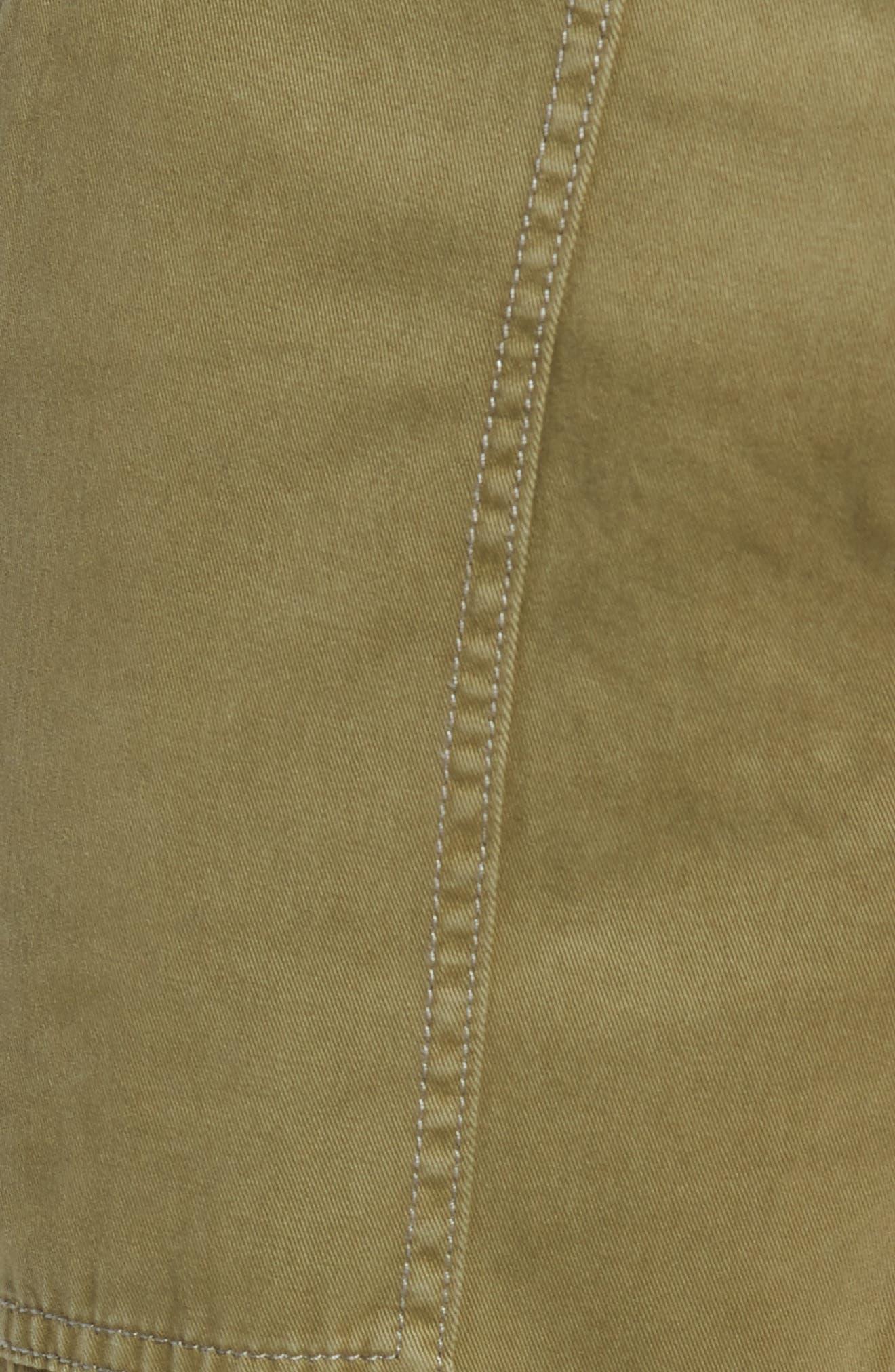 Military Cargo Pants,                             Alternate thumbnail 5, color,                             MIST GREEN