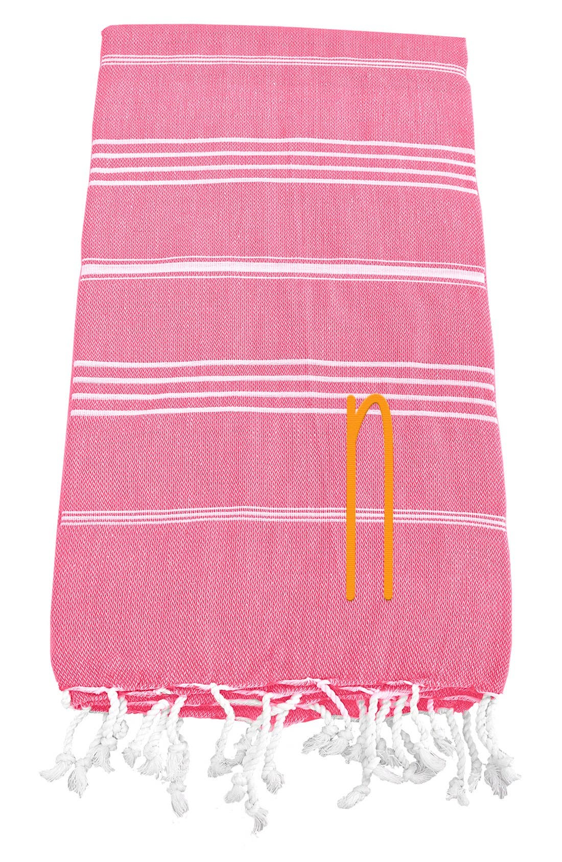 Monogram Turkish Cotton Towel,                             Main thumbnail 150, color,