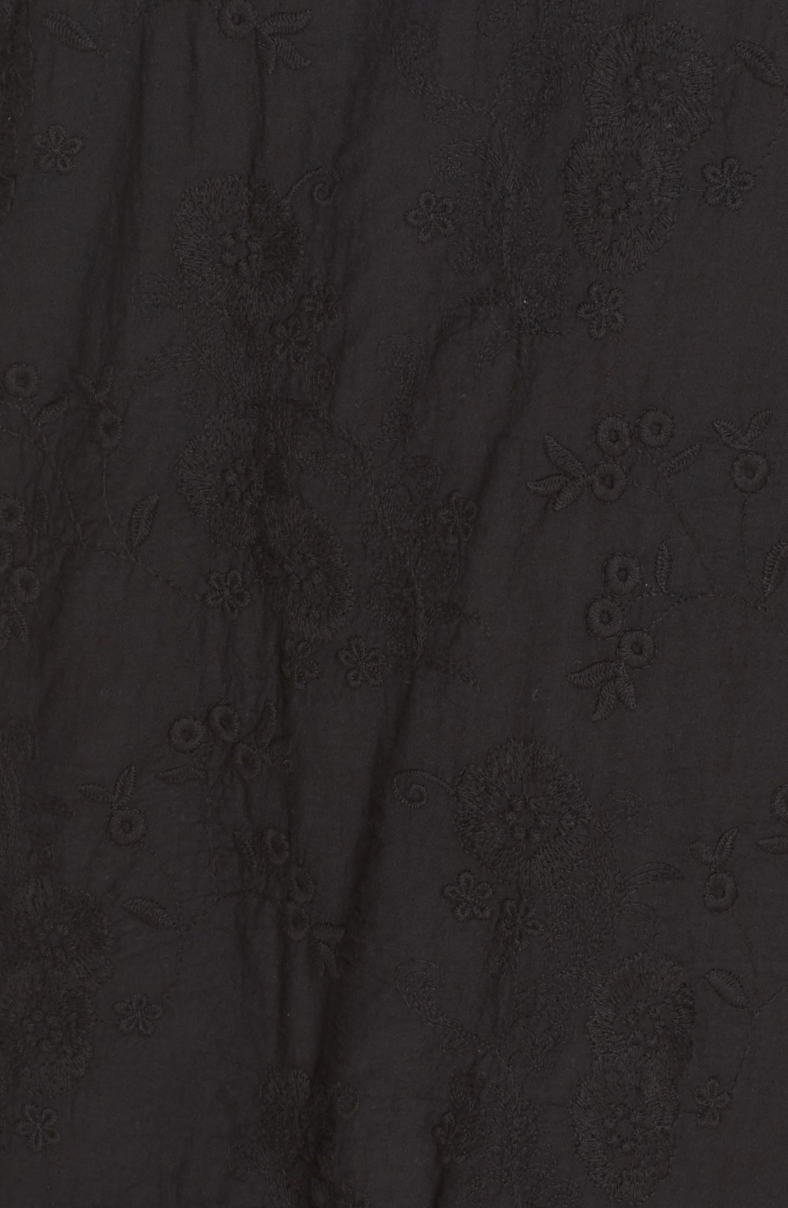 Zen Garden Cover-Up Dress,                             Alternate thumbnail 5, color,                             001