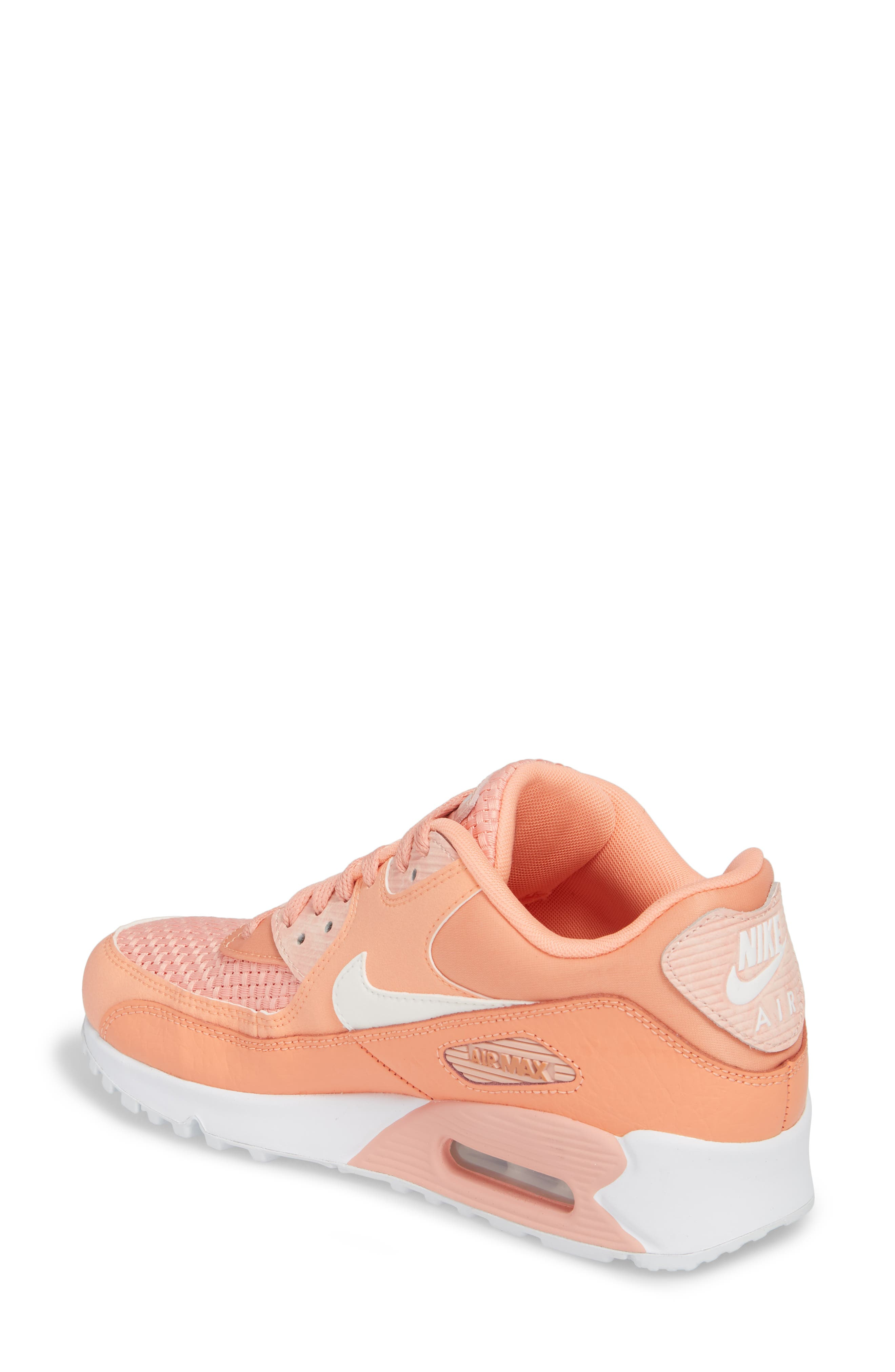 Air Max 90 SE Sneaker,                             Alternate thumbnail 12, color,