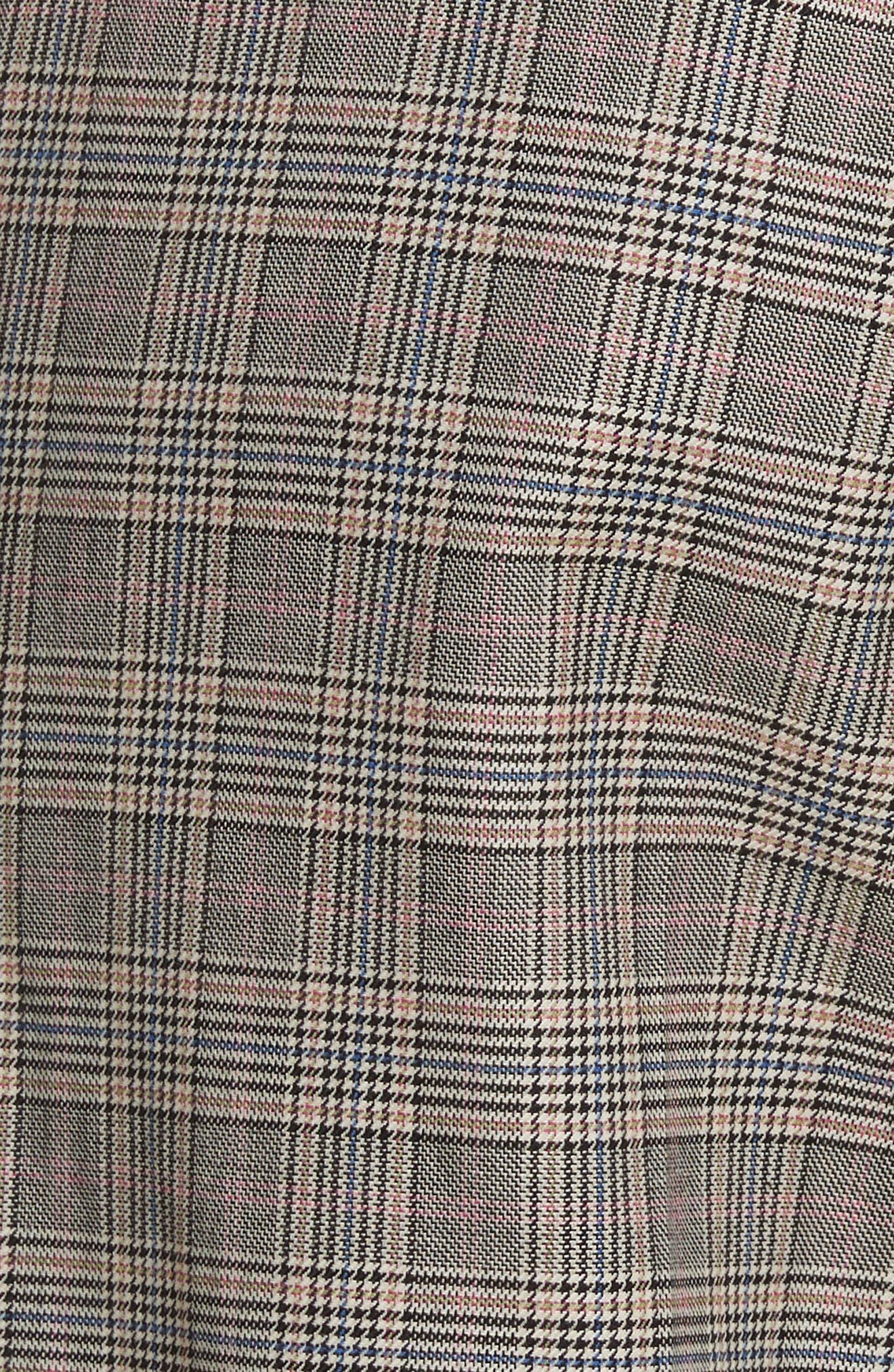 Oman Side Stripe Wool Blend Pants,                             Alternate thumbnail 5, color,                             017