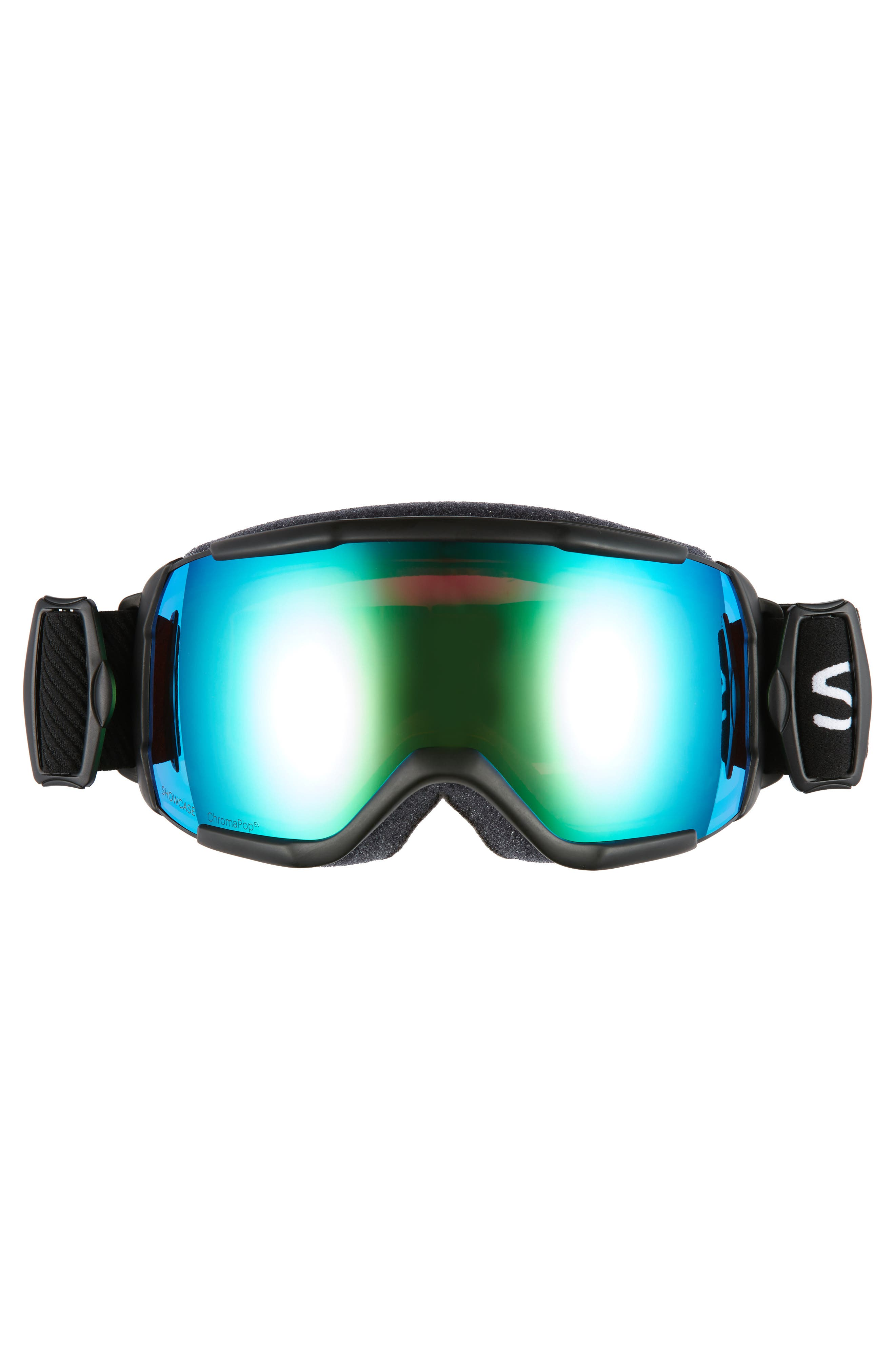 Showcase Over the Glass ChromaPop<sup>™</sup> 182mm Goggles,                             Alternate thumbnail 3, color,                             BLACK