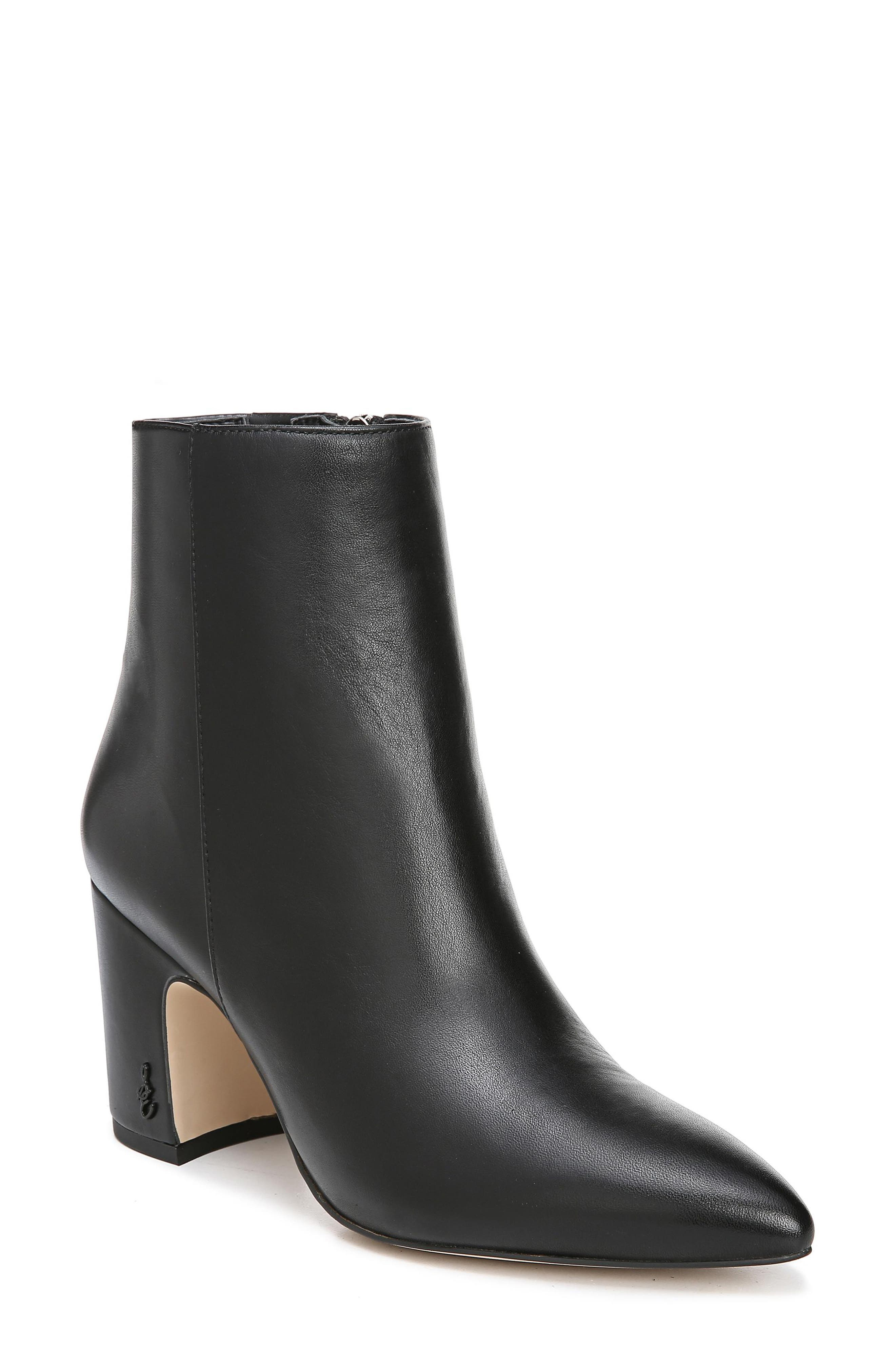 boots with pointy toes