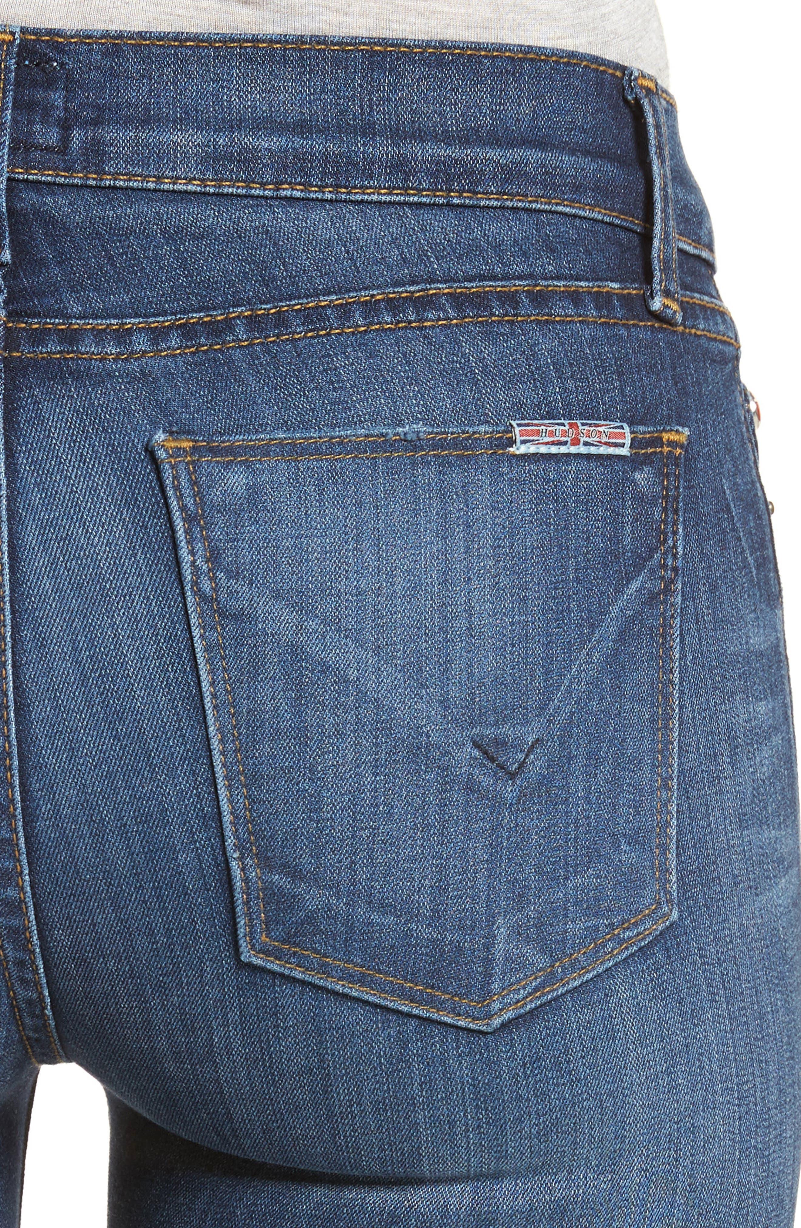 'Krista' Super Skinny Jeans,                             Alternate thumbnail 16, color,