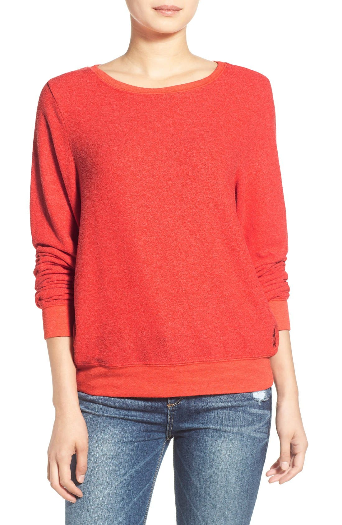 'Baggy Beach Jumper' Pullover,                             Main thumbnail 37, color,
