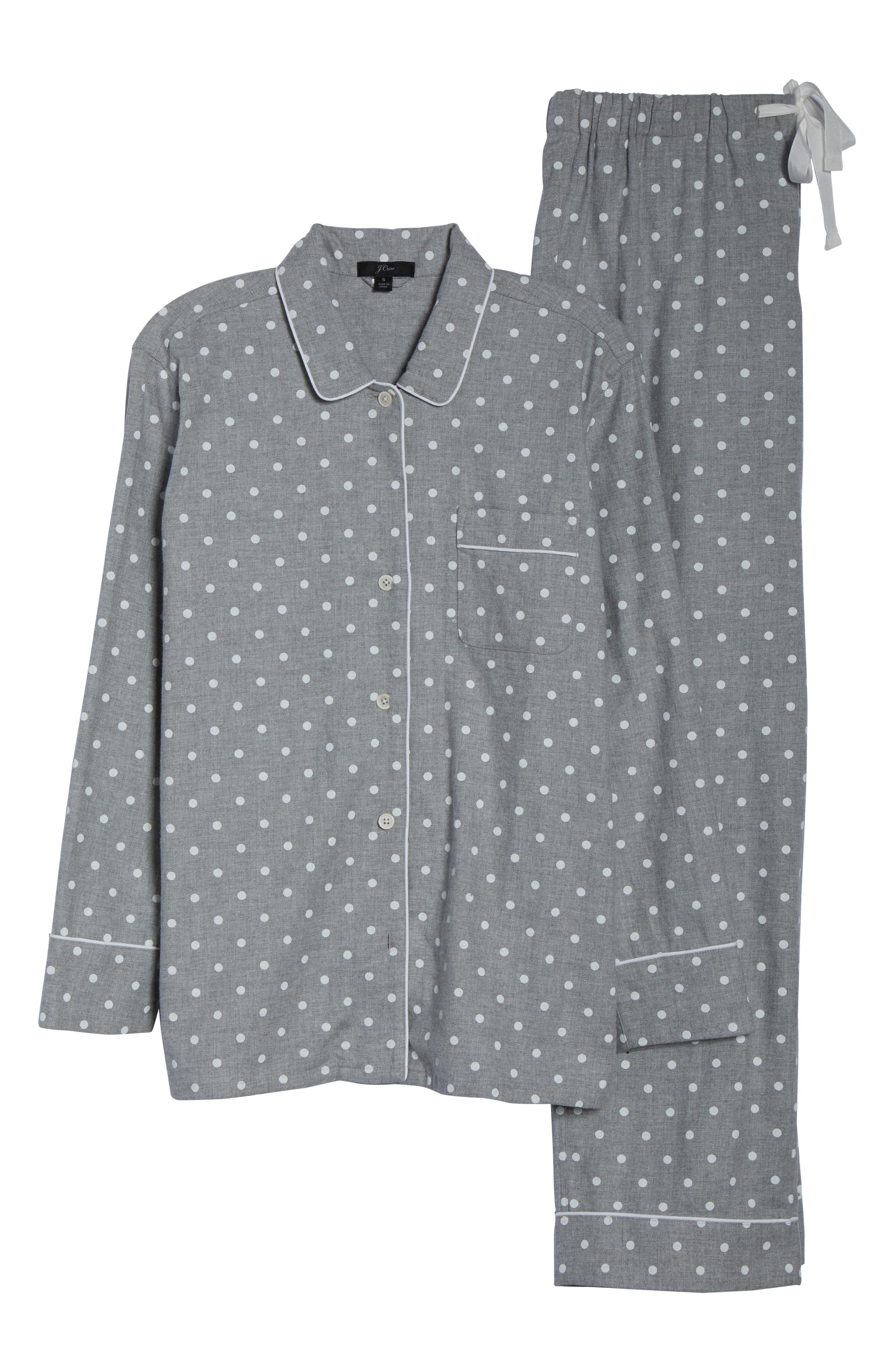 Flannel Pajamas,                             Alternate thumbnail 6, color,                             023