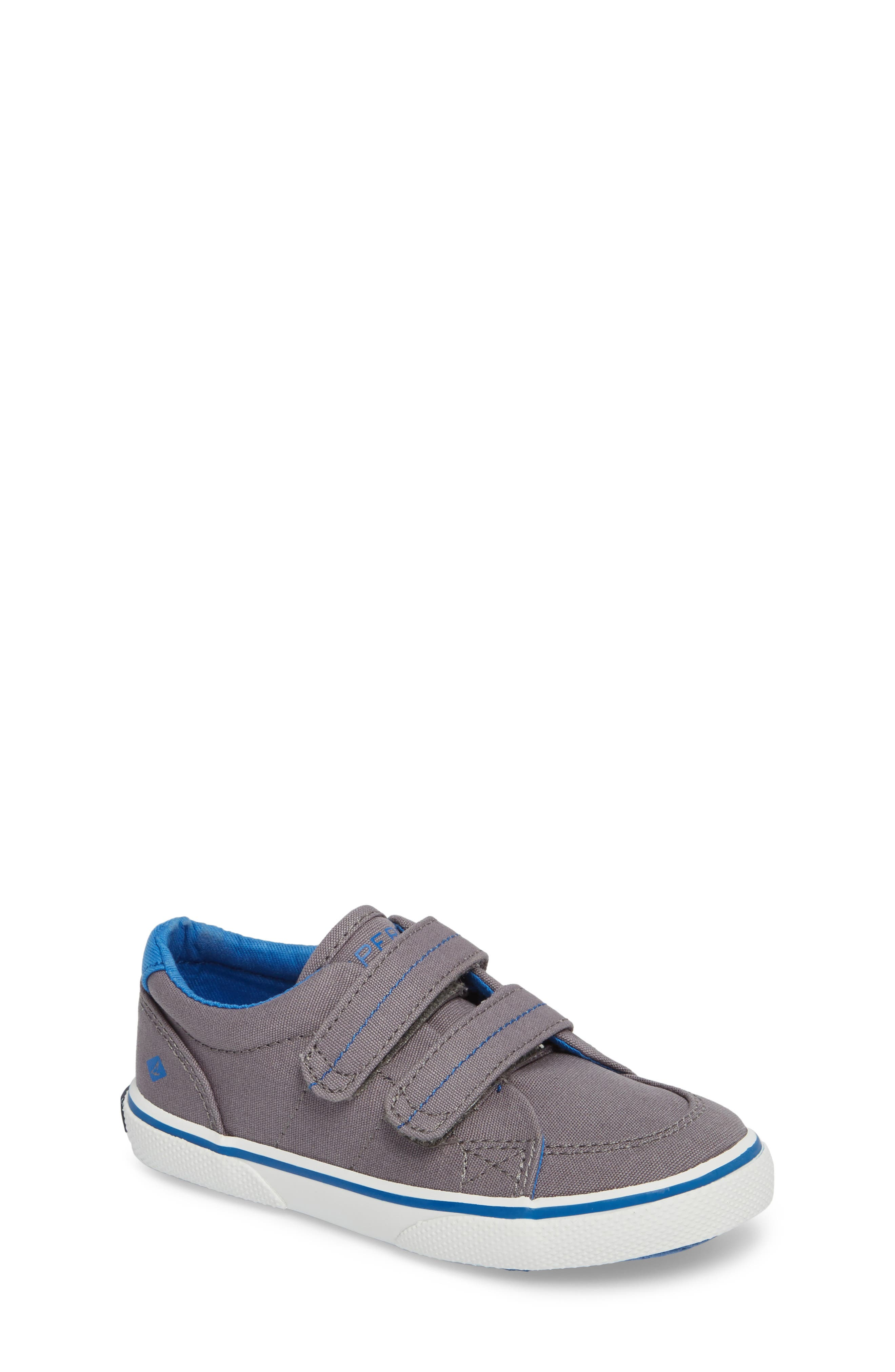 Sperry Top-Sider<sup>®</sup> Kids 'Halyard' Sneaker,                             Main thumbnail 1, color,                             020