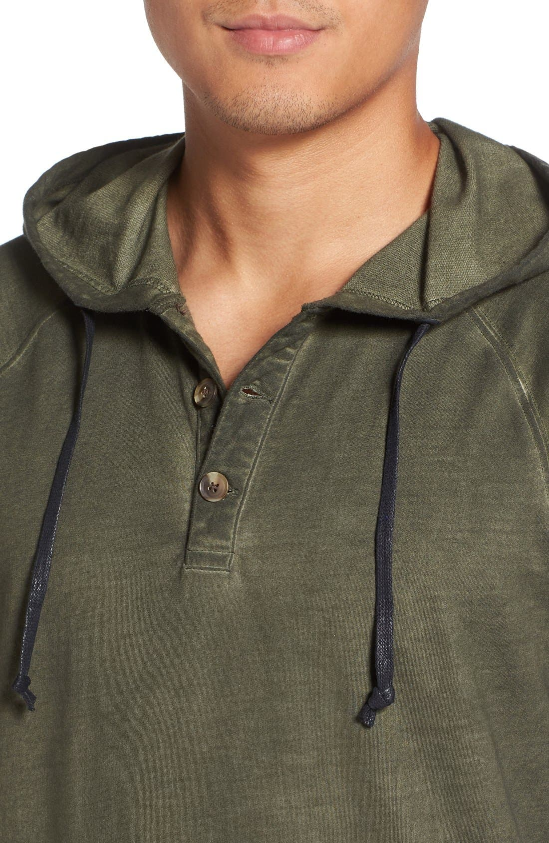 Faded Henley Hoodie,                             Alternate thumbnail 11, color,