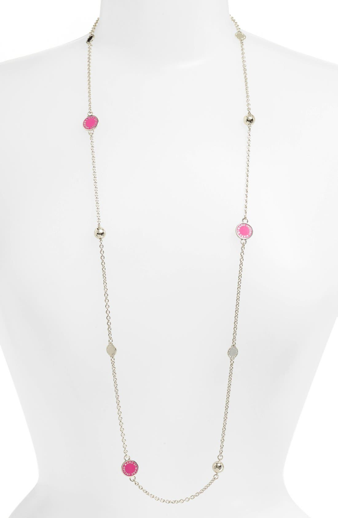 'Classic Marc' Long Necklace,                             Alternate thumbnail 18, color,