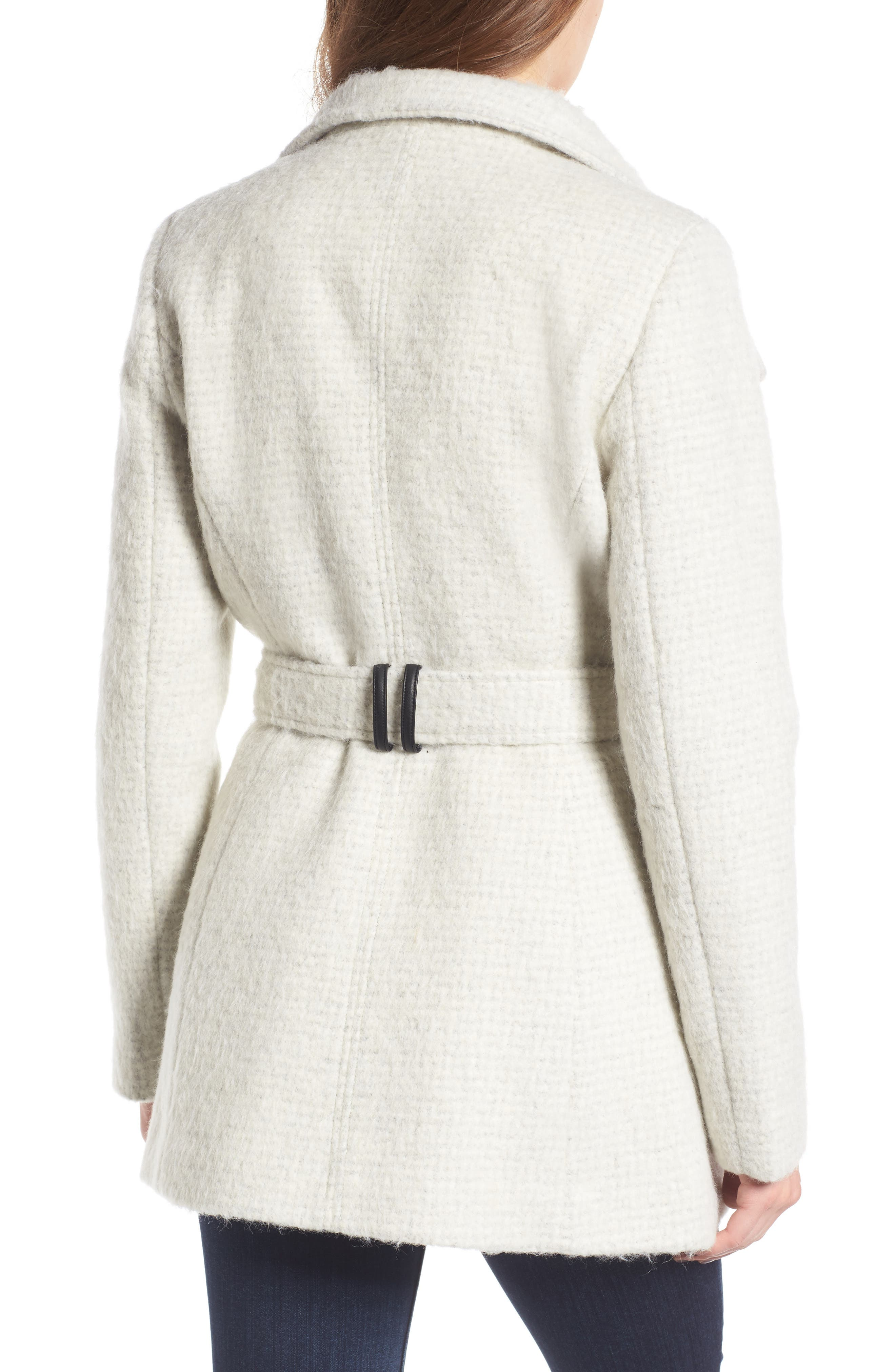 Belted Wrap Coat,                             Alternate thumbnail 4, color,