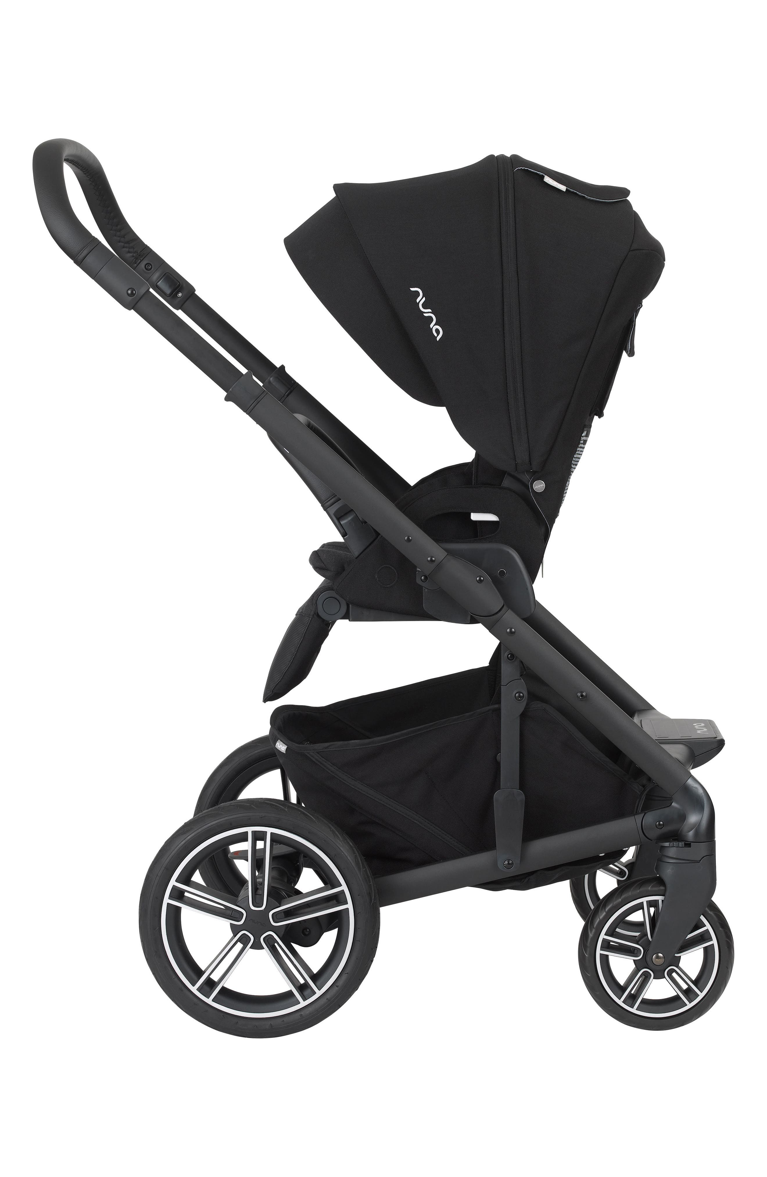NUNA,                             MIXX2<sup>™</sup> Three Mode Stroller with All Terrain Tires,                             Alternate thumbnail 3, color,                             CAVIAR