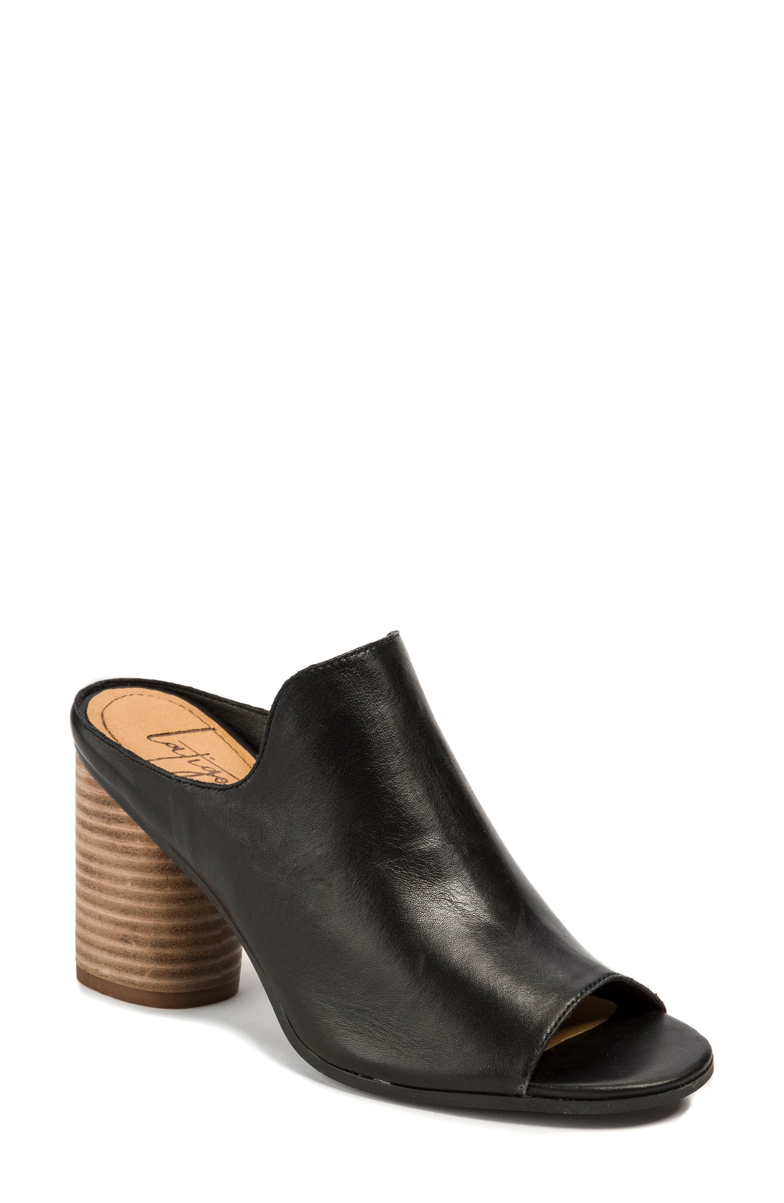 Hallie Loafer Sandal,                             Main thumbnail 1, color,                             001