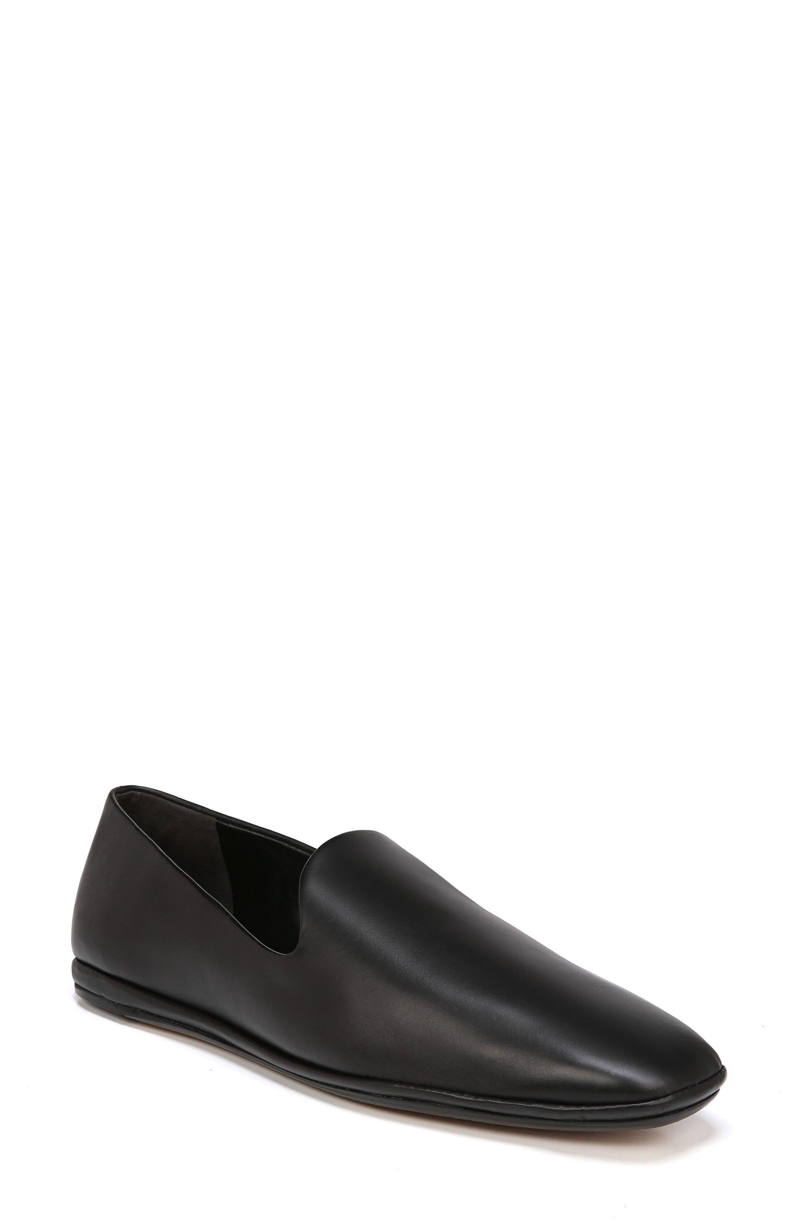 Paz Venetian Loafer,                         Main,                         color, BLACK