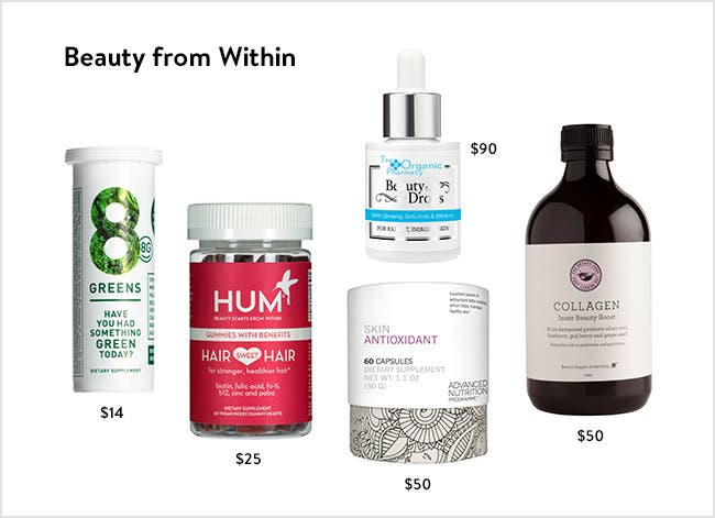 Beauty from Within: Shine from the inside out with our natural beauty supplements.