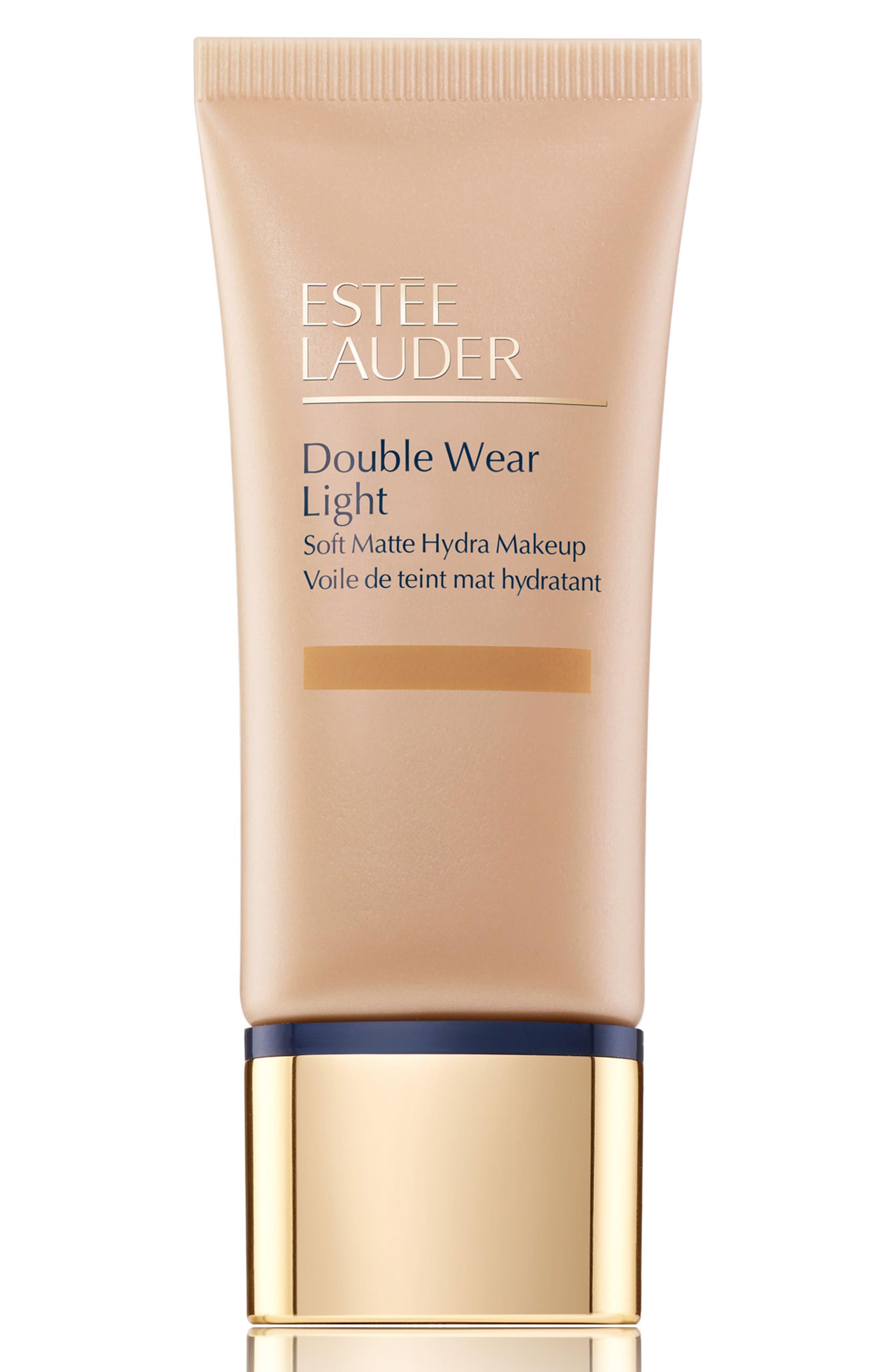 Estee Lauder Double Wear Light Soft Matte Hydra Makeup - 1 Honey Bronze
