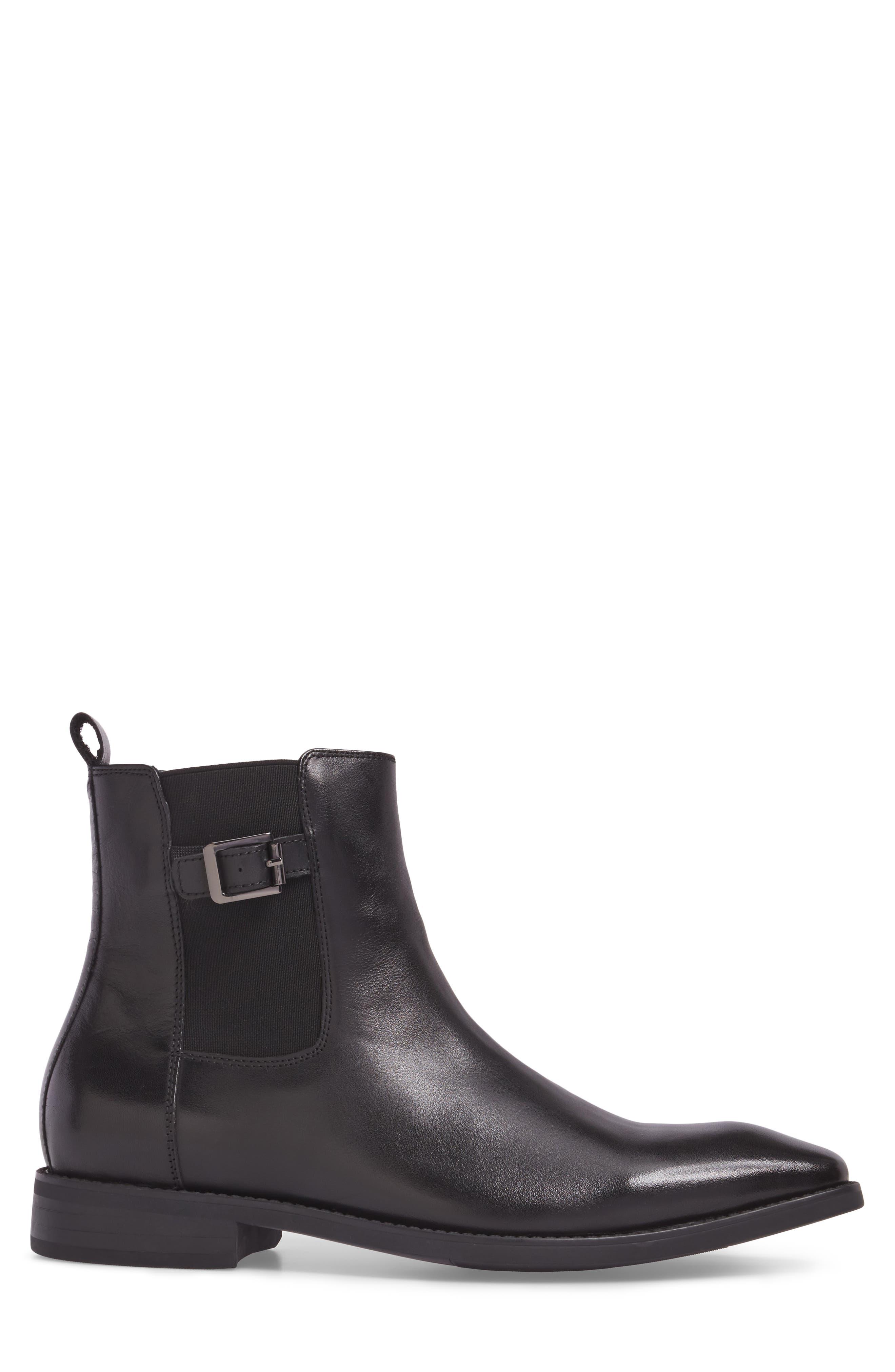 Loden Chelsea Boot,                             Alternate thumbnail 3, color,                             001