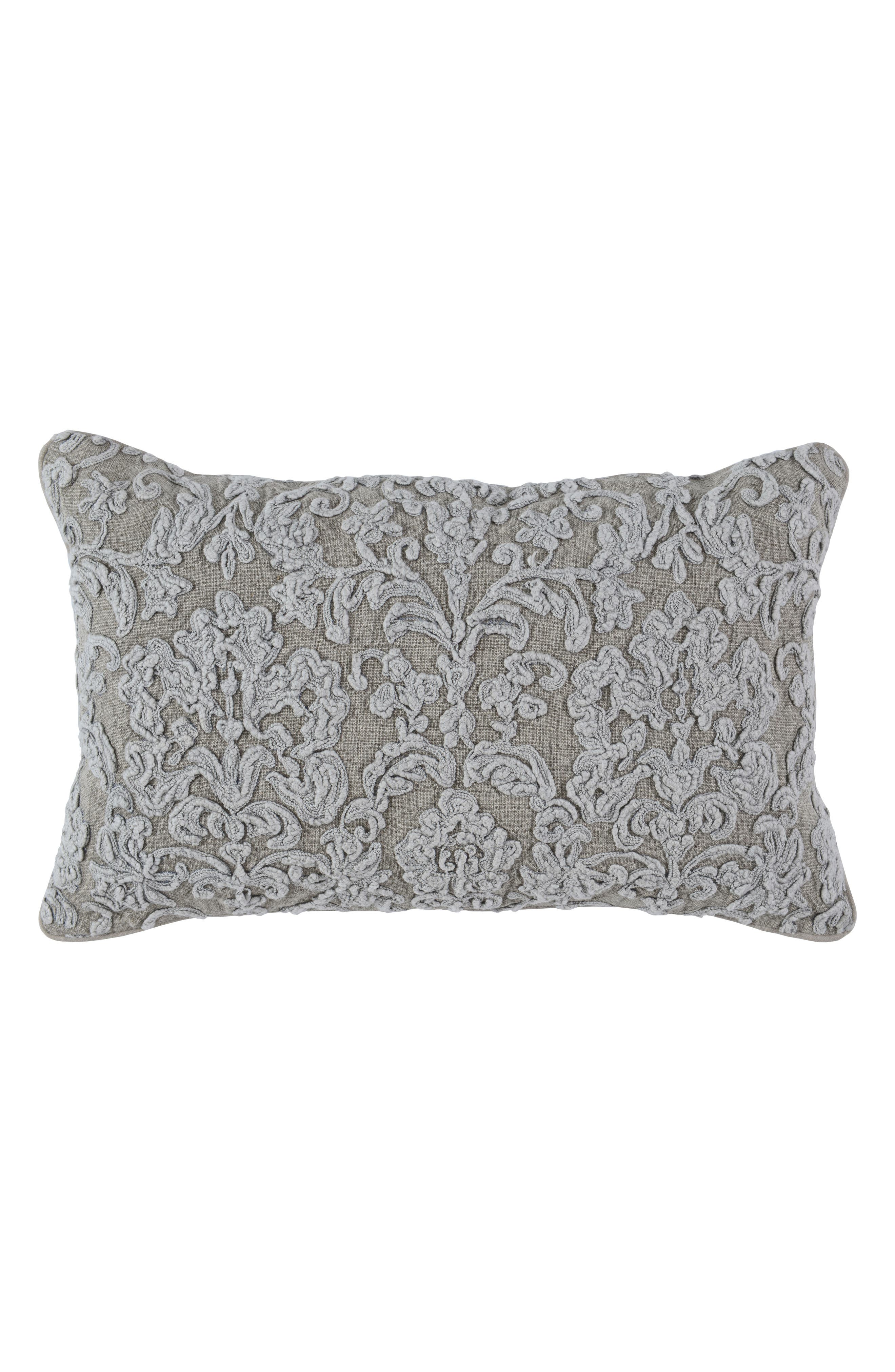 Giselle Accent Pillow,                             Main thumbnail 1, color,                             NATURAL