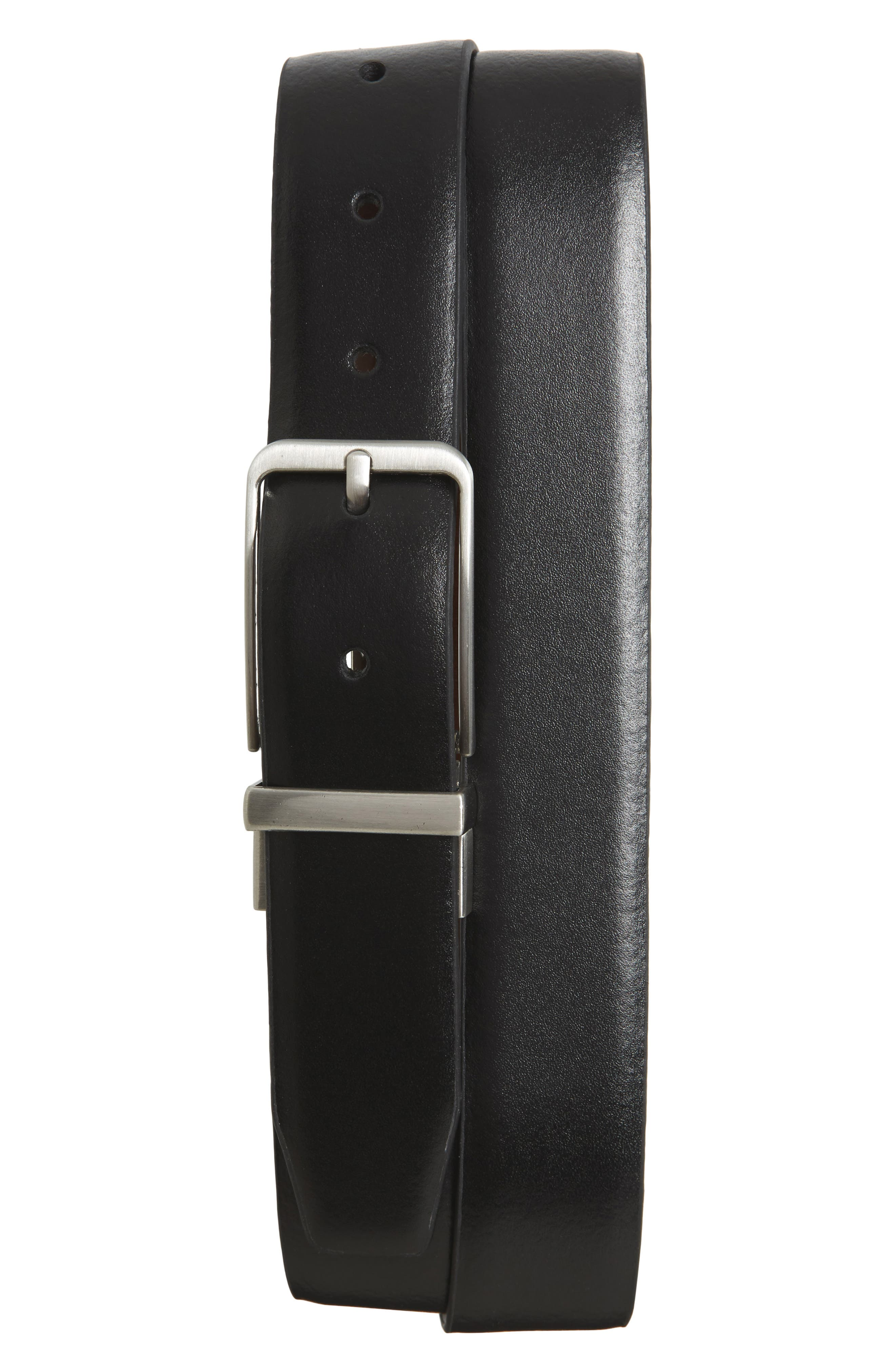 Porter Reversible Leather Belt,                             Main thumbnail 1, color,