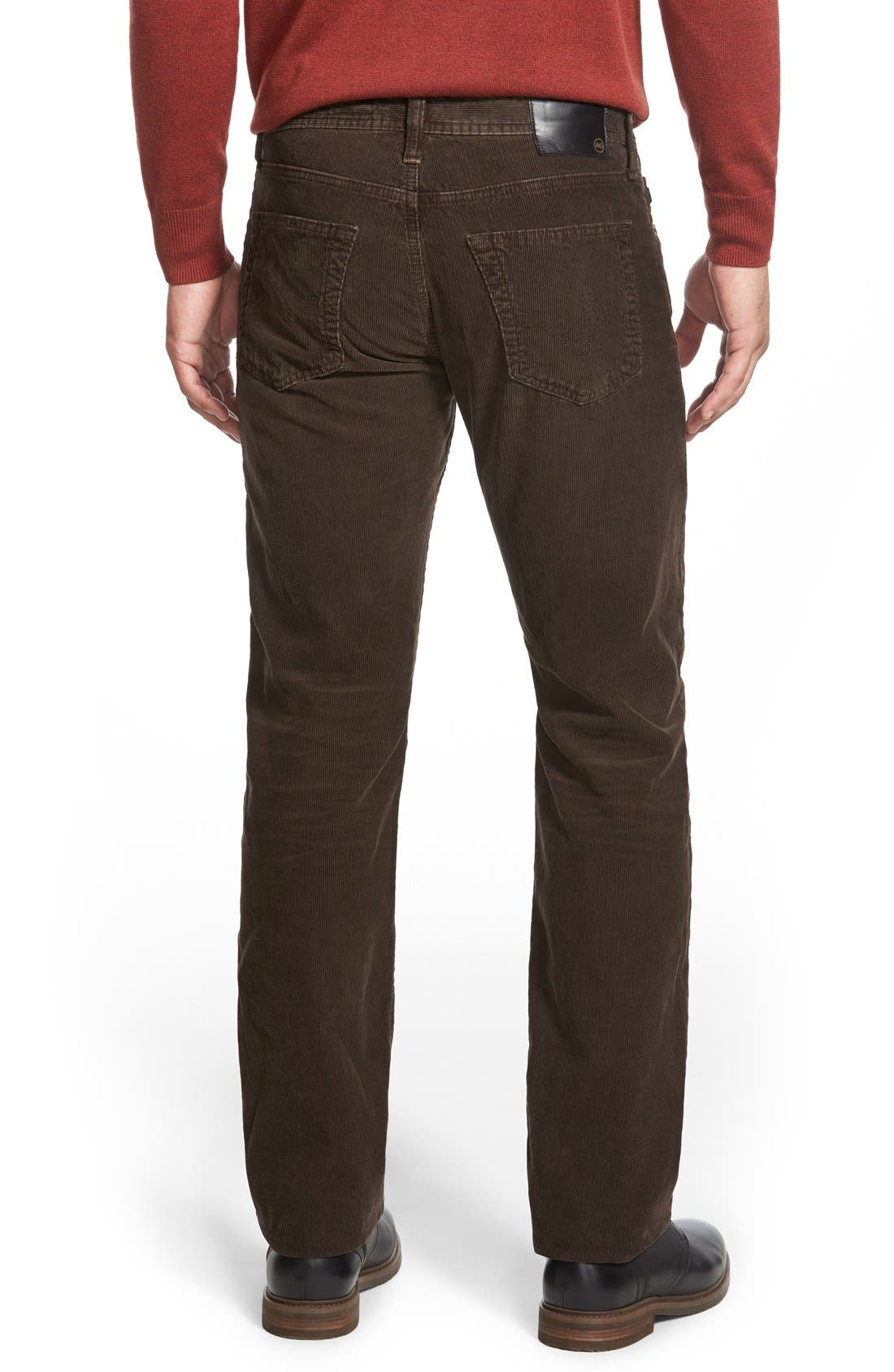 'Graduate' Tailored Straight Leg Corduroy Pants,                             Alternate thumbnail 43, color,