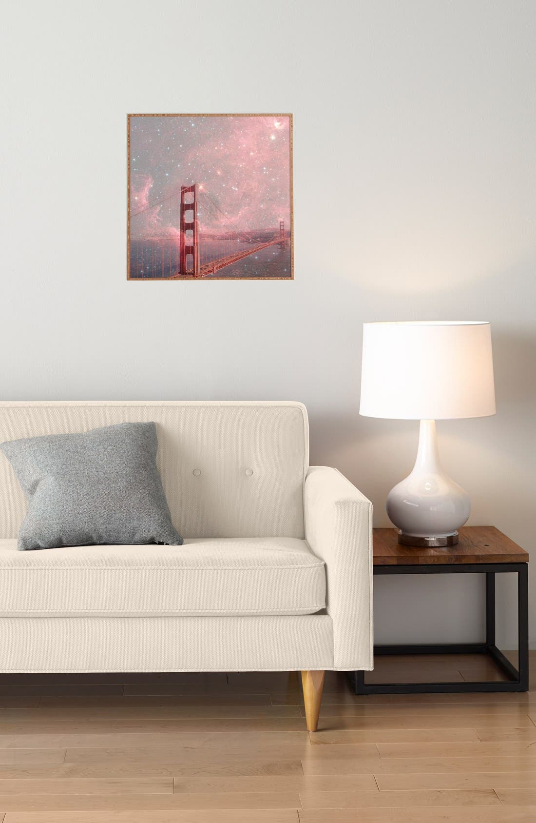'Bianca Green - Stardust Covering San Francisco' Wall Art,                             Alternate thumbnail 2, color,                             600