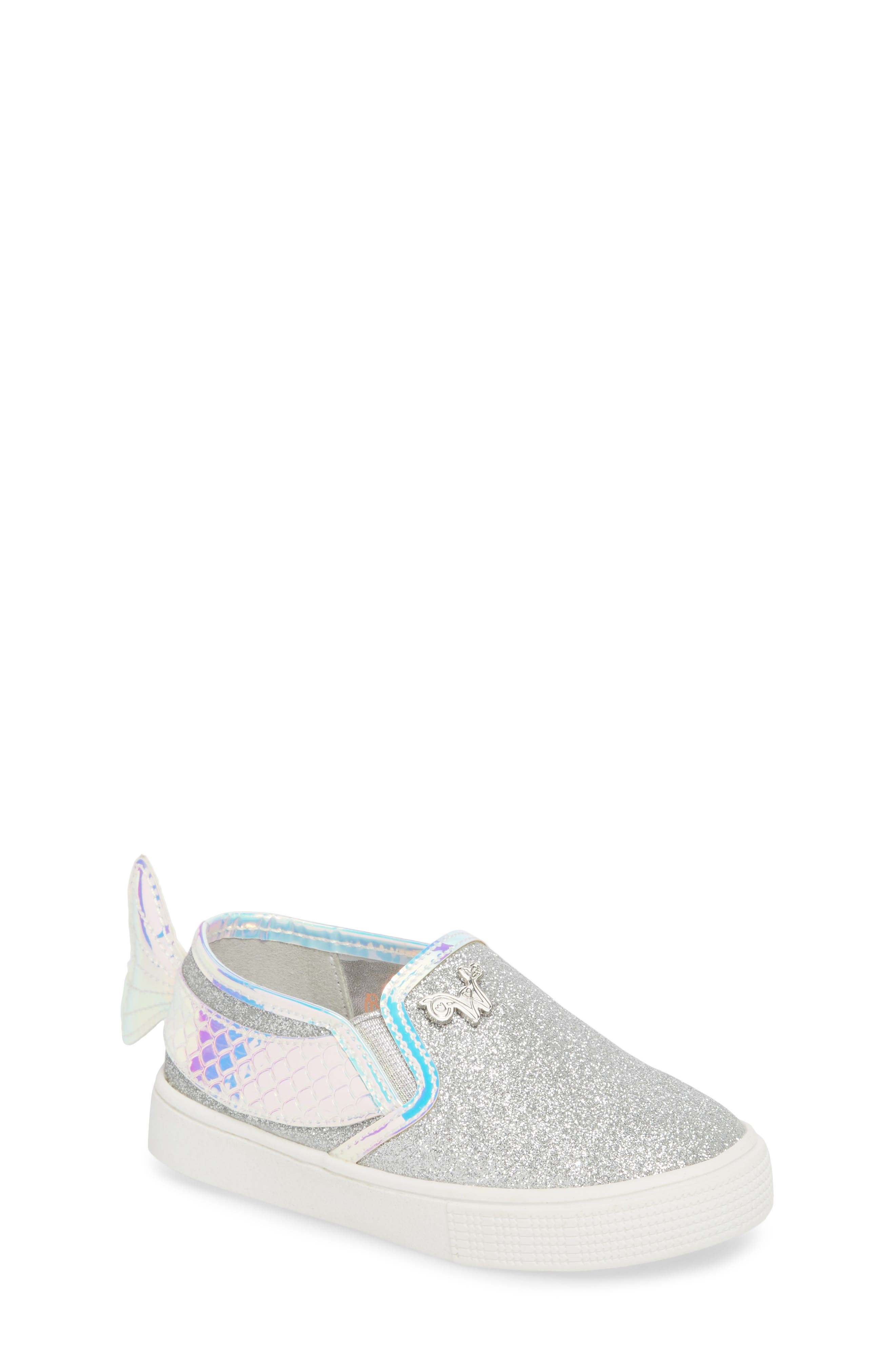 Camille Mermaid Glitter Sneaker,                         Main,                         color, 040