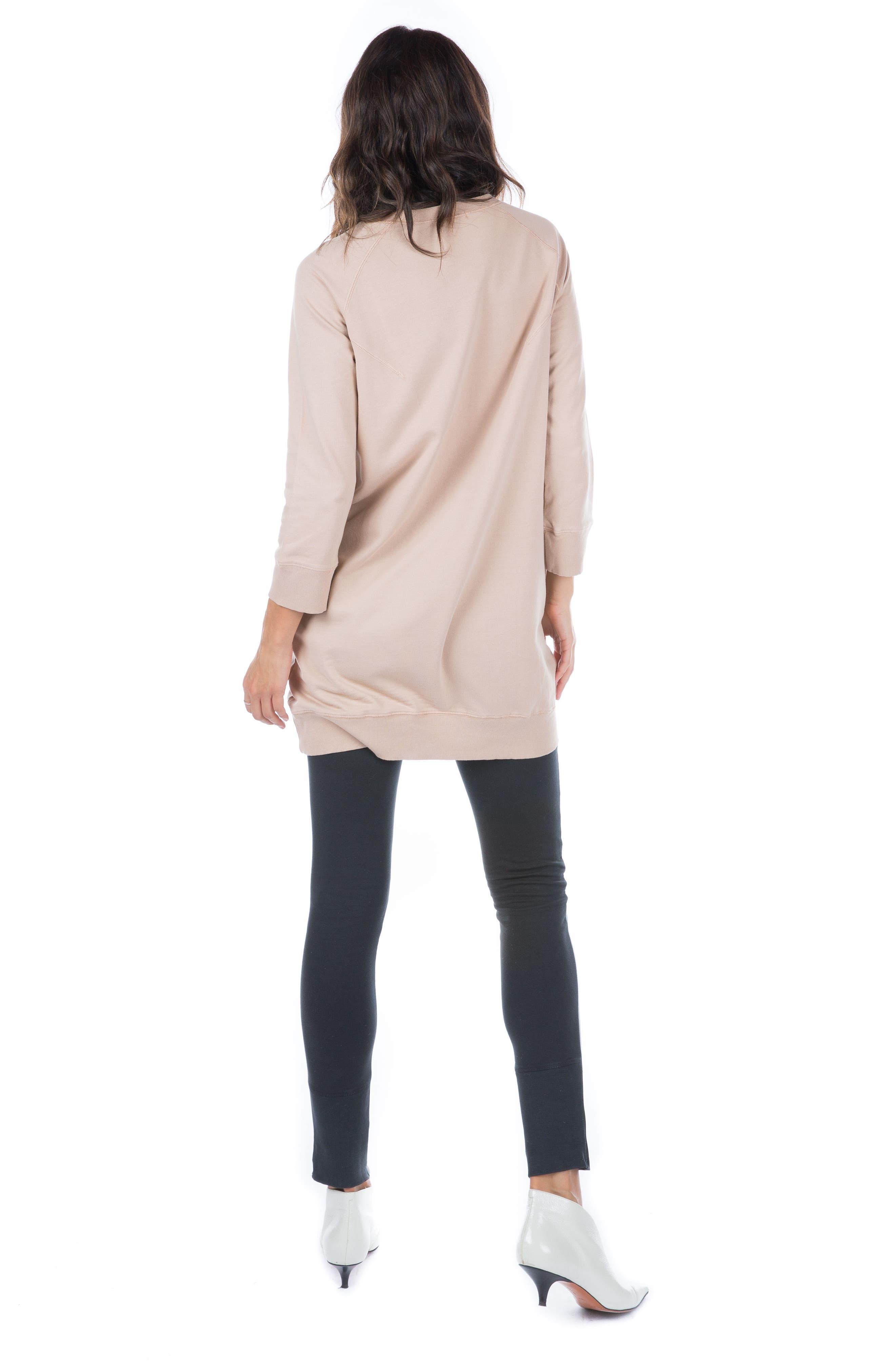 Sweatshirt Dress,                             Alternate thumbnail 7, color,                             950