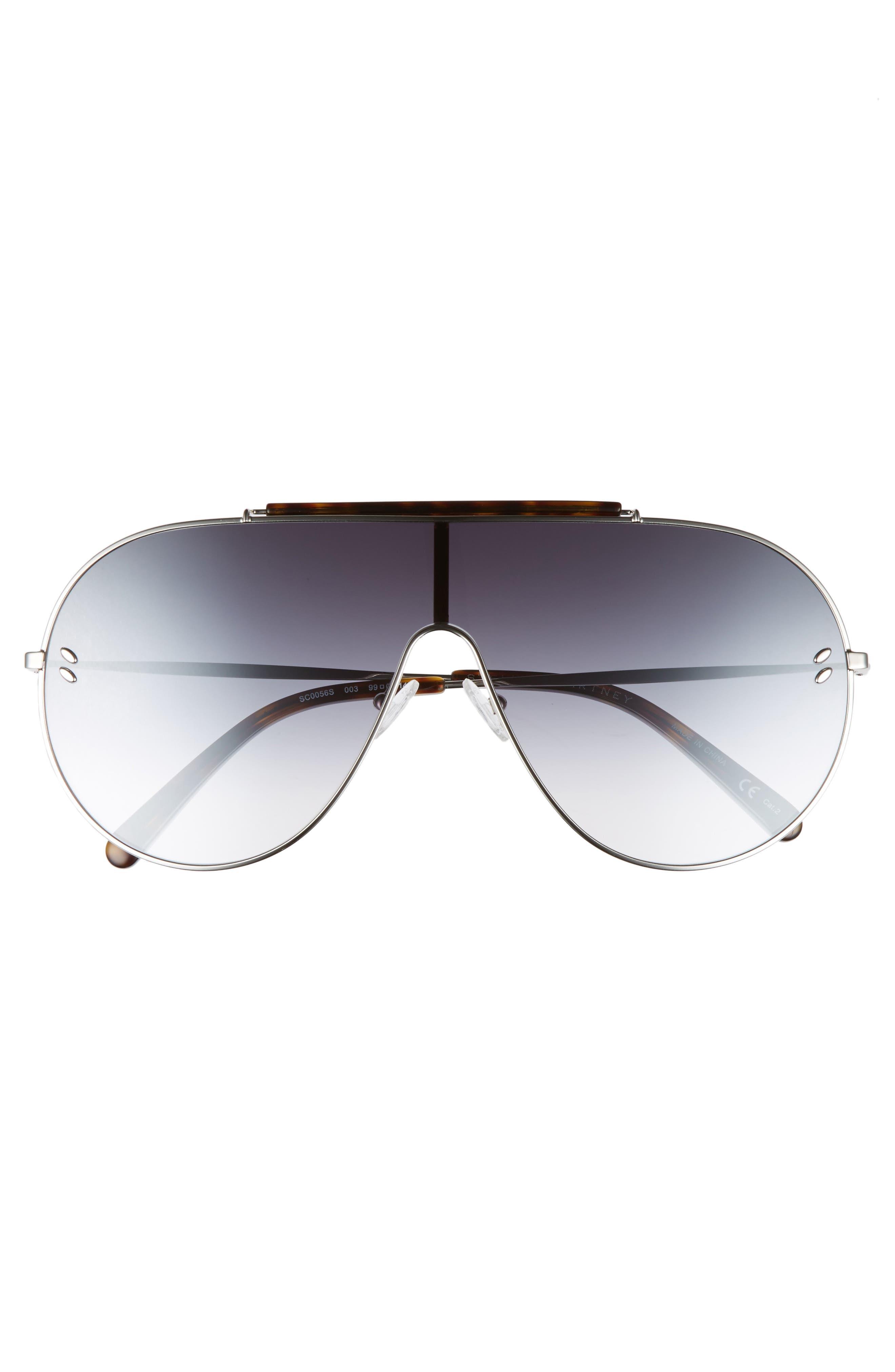 65mm Shield Sunglasses,                             Alternate thumbnail 5, color,