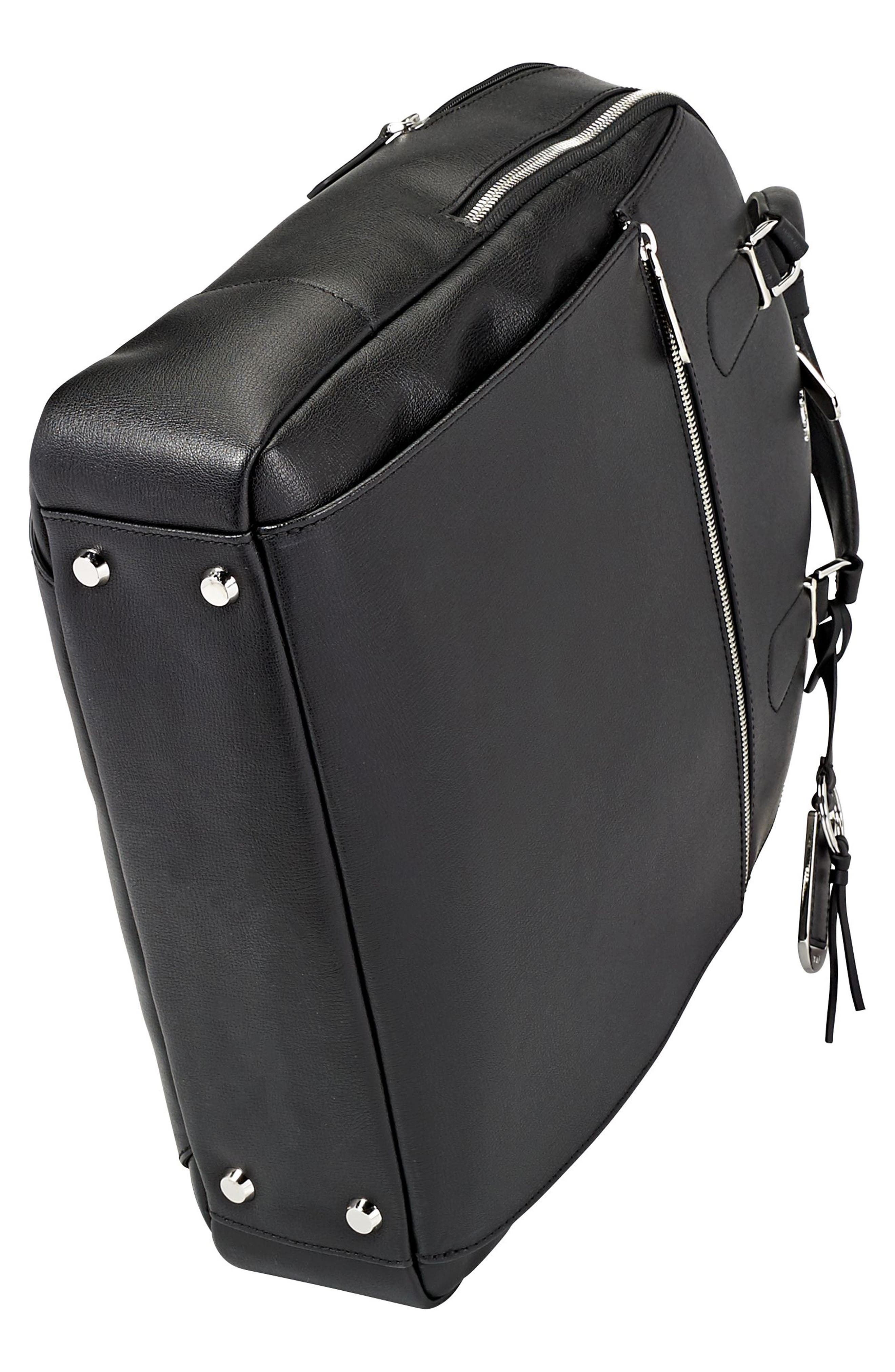 Stanton Orion Leather Backpack,                             Alternate thumbnail 3, color,                             001