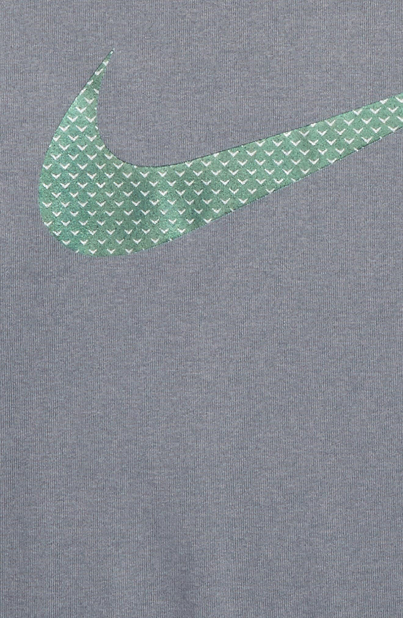 Dry Knurled Swoosh Graphic T-Shirt,                             Alternate thumbnail 2, color,                             065