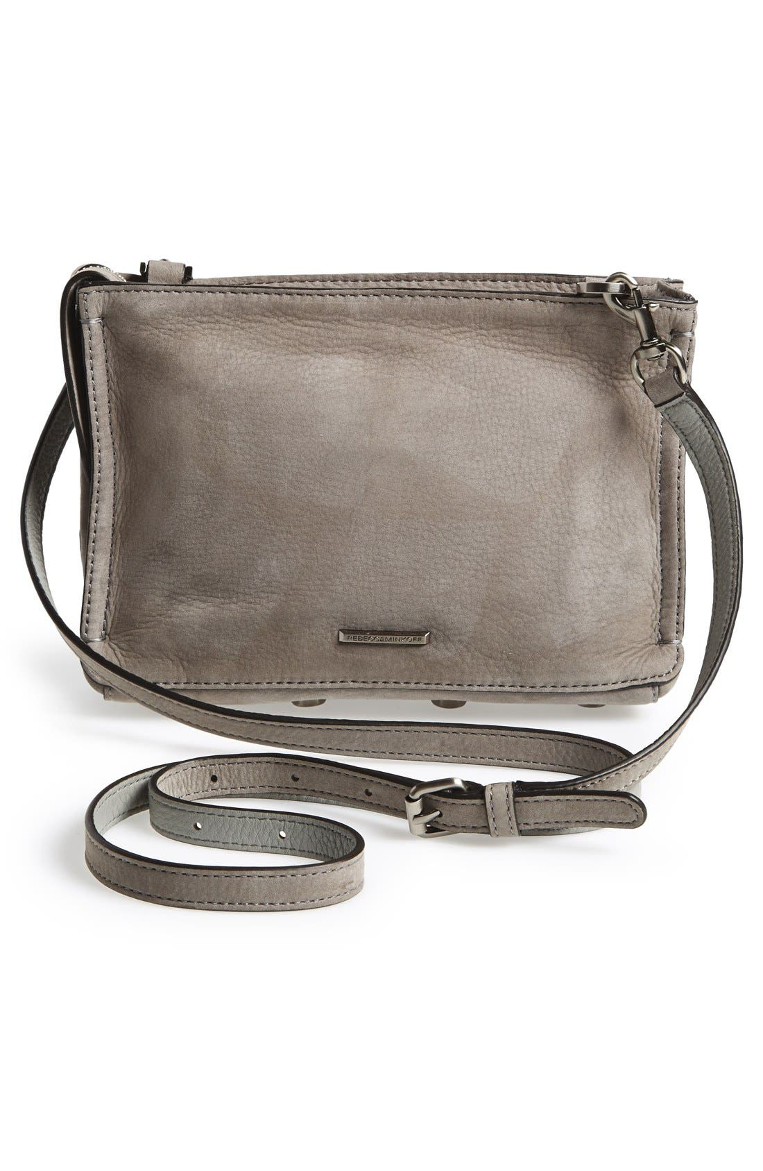 'Regan' Crossbody Bag,                             Alternate thumbnail 3, color,                             020