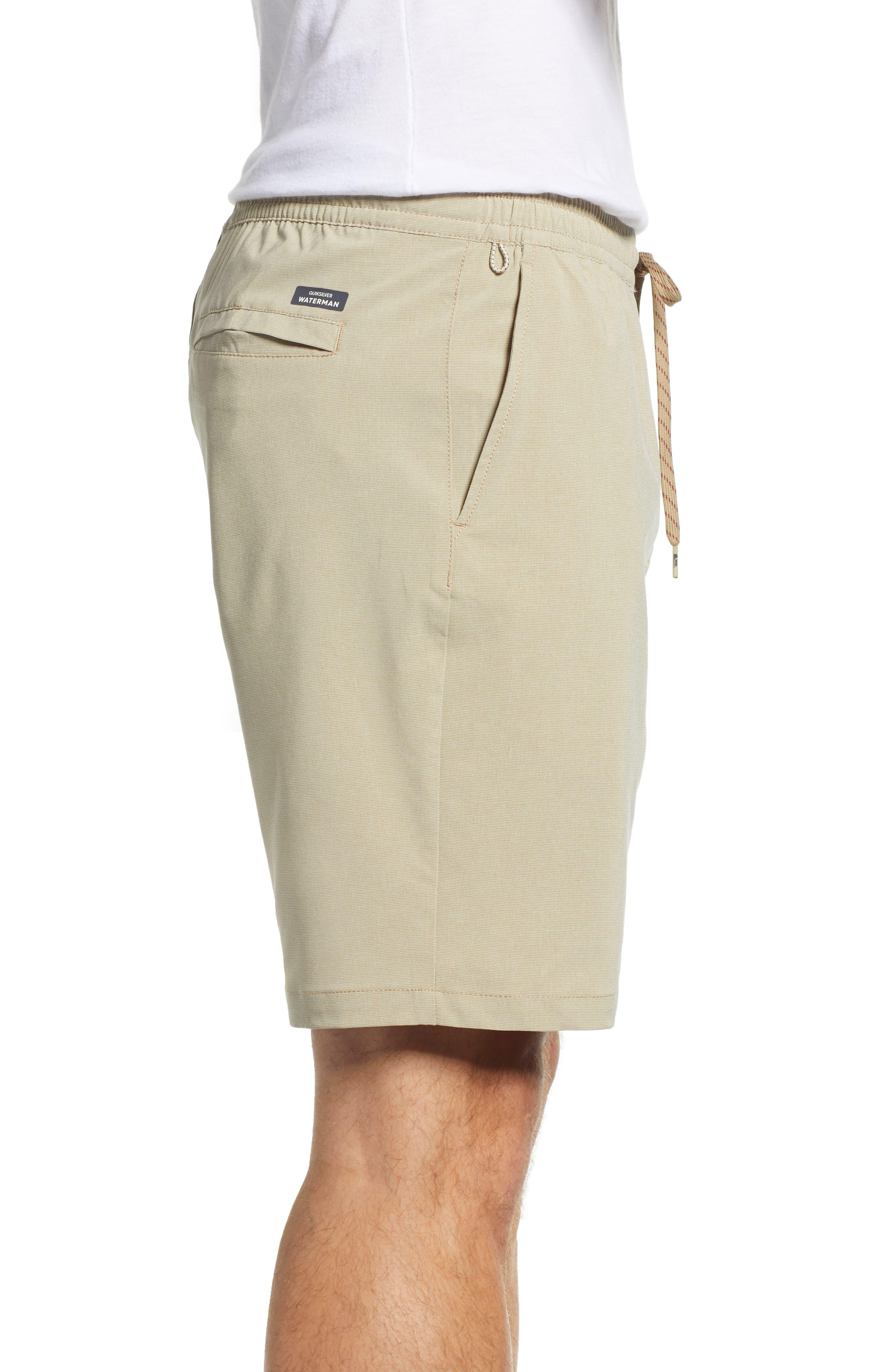 QUIKSILVER WATERMAN COLLECTION,                             Suva Amphibian Hybrid Shorts,                             Alternate thumbnail 3, color,                             TWILL