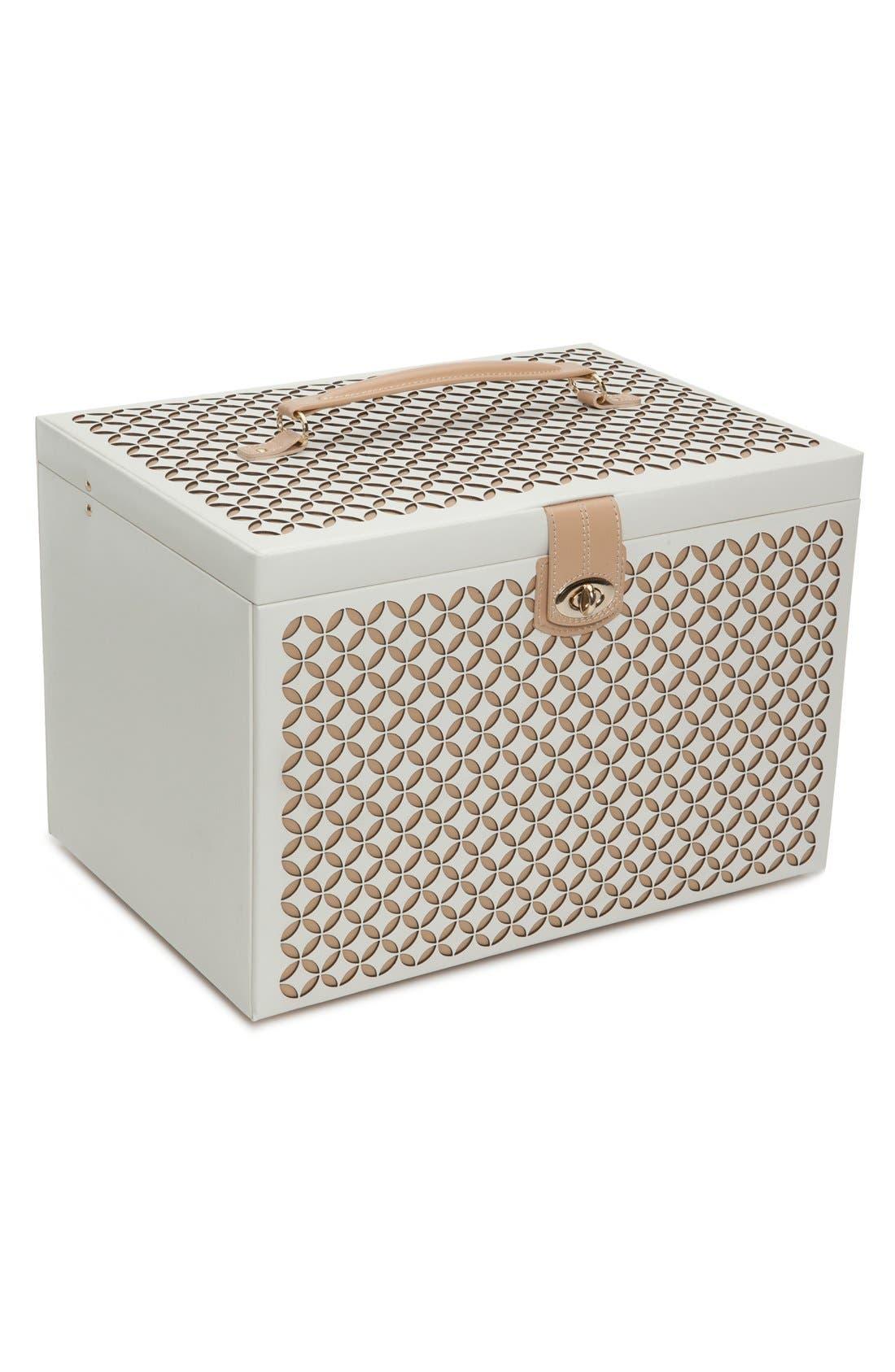 'Chloe' Jewelry Box,                             Main thumbnail 1, color,                             250