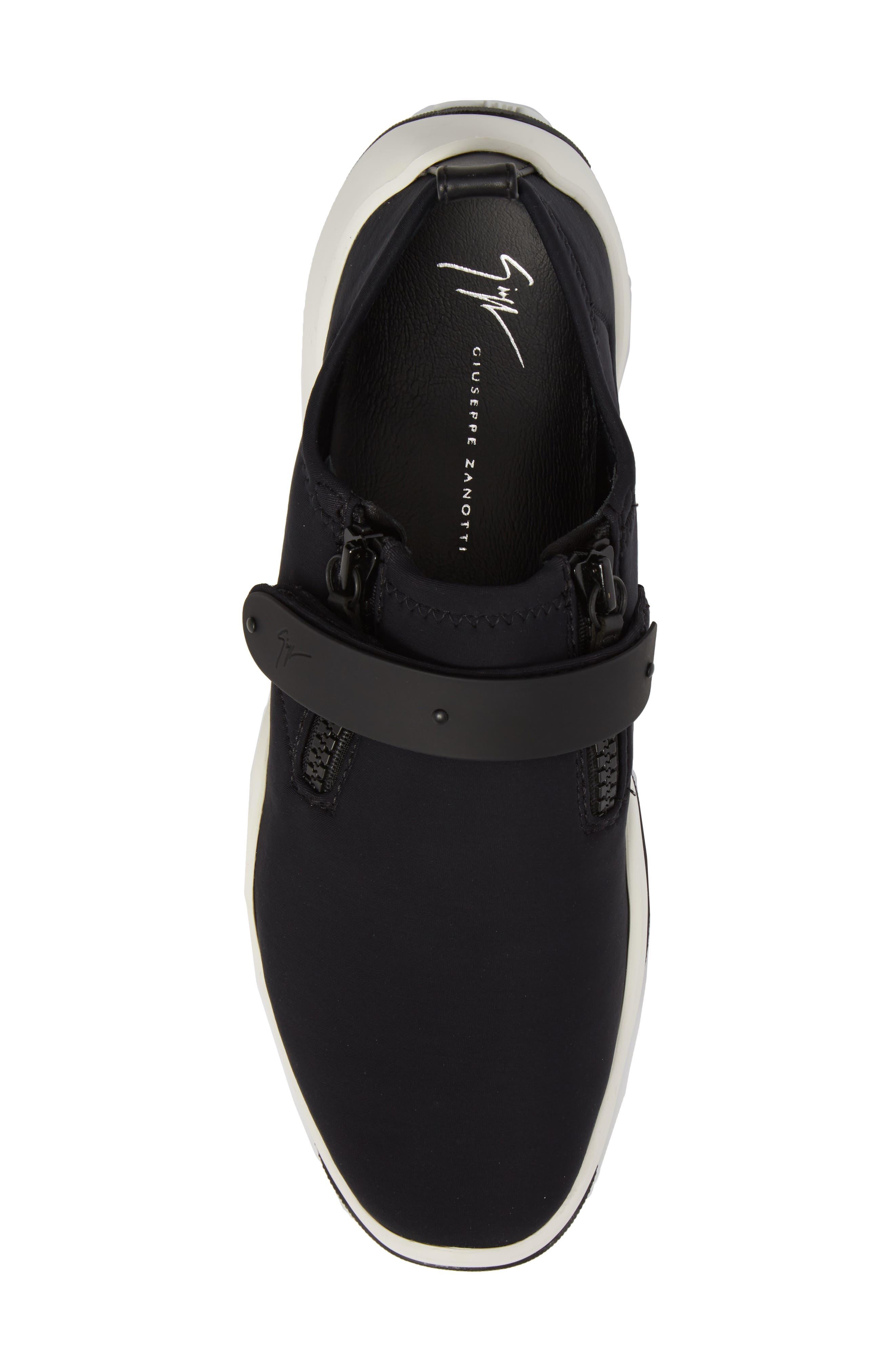 Scuba Strap Sneaker,                             Alternate thumbnail 5, color,                             001