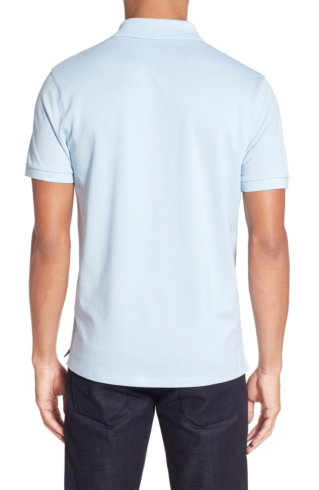 'Pallas' Regular Fit Logo Embroidered Polo Shirt,                             Alternate thumbnail 46, color,