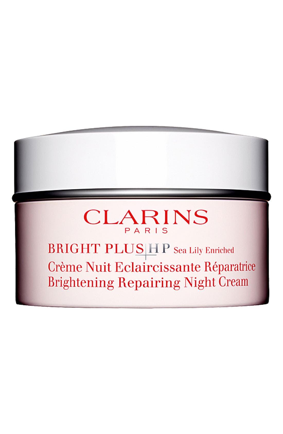 'Bright Plus HP' Brightening Repairing Night Cream, Main, color, 000