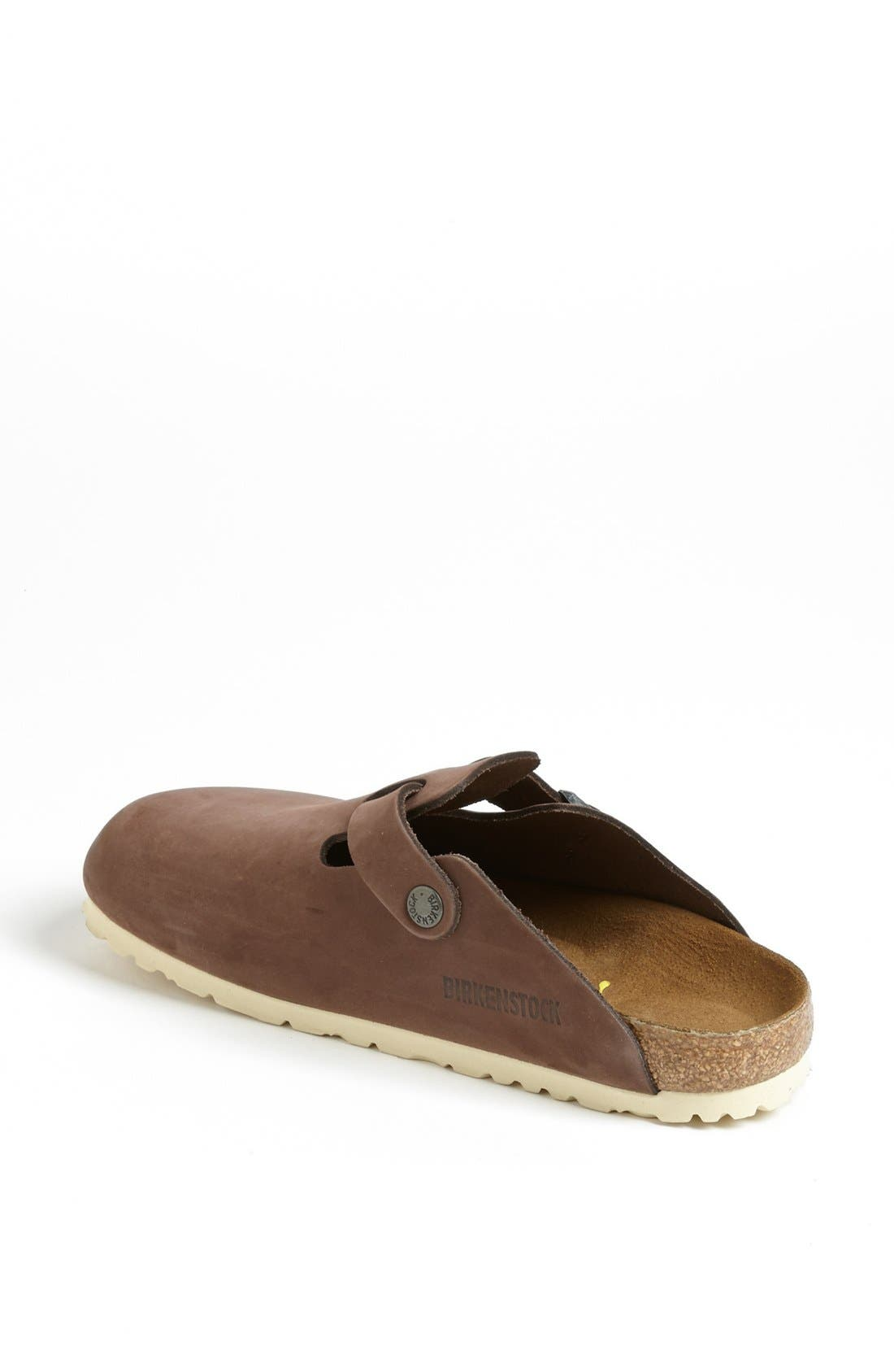 'Boston' Classic Oiled Leather Clog,                             Alternate thumbnail 50, color,