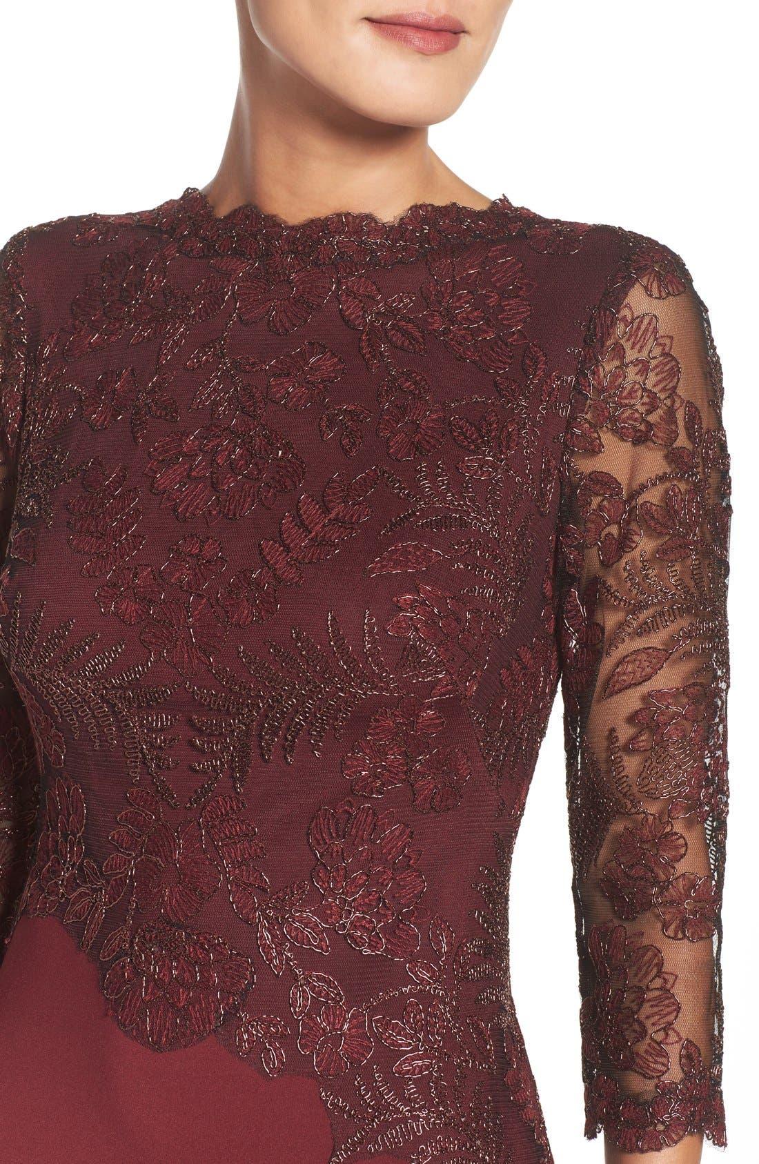 Lace Sheath Dress,                             Alternate thumbnail 10, color,