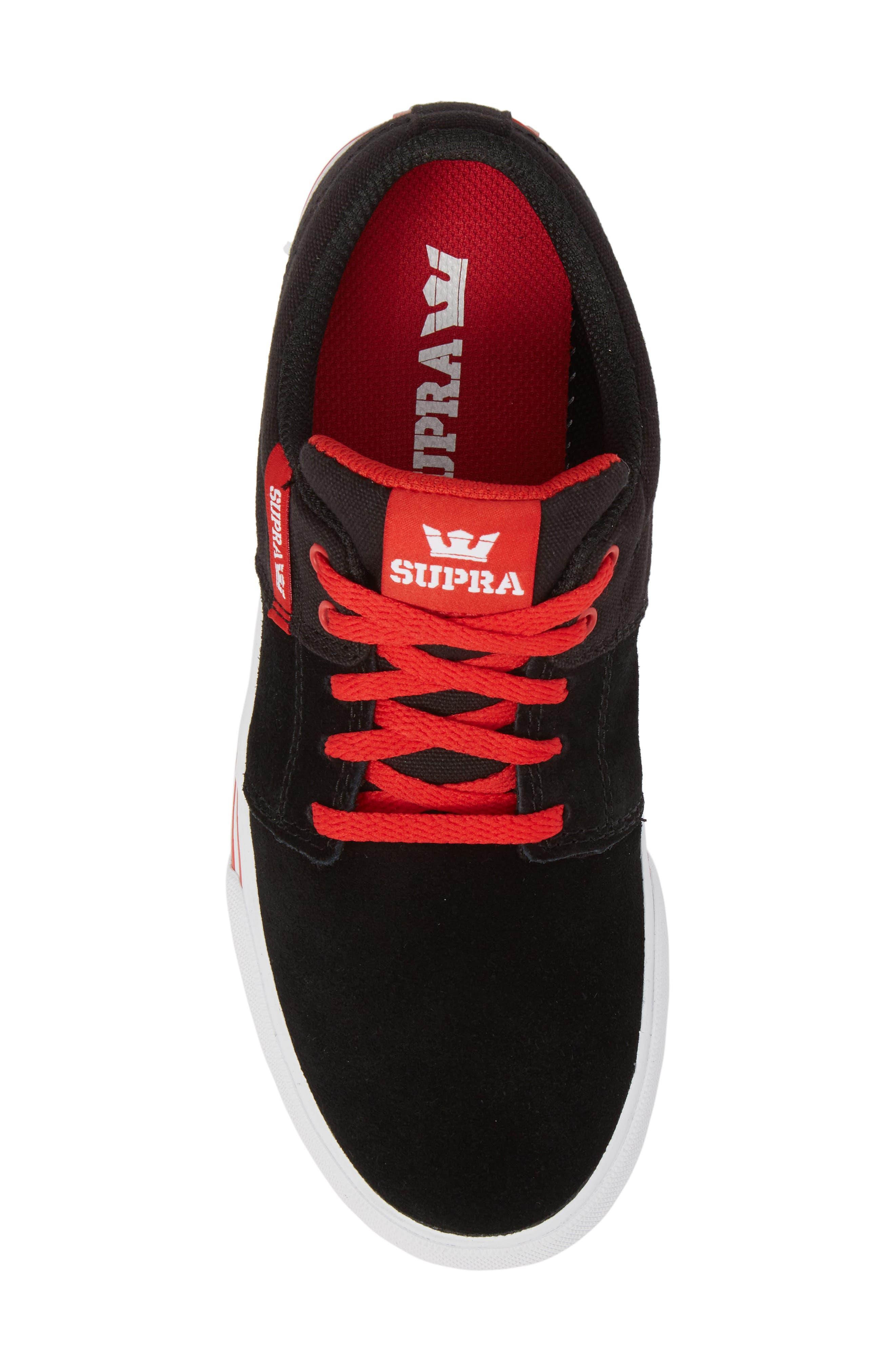 'Stacks Vulc II' Low Top Sneaker,                             Alternate thumbnail 5, color,                             002