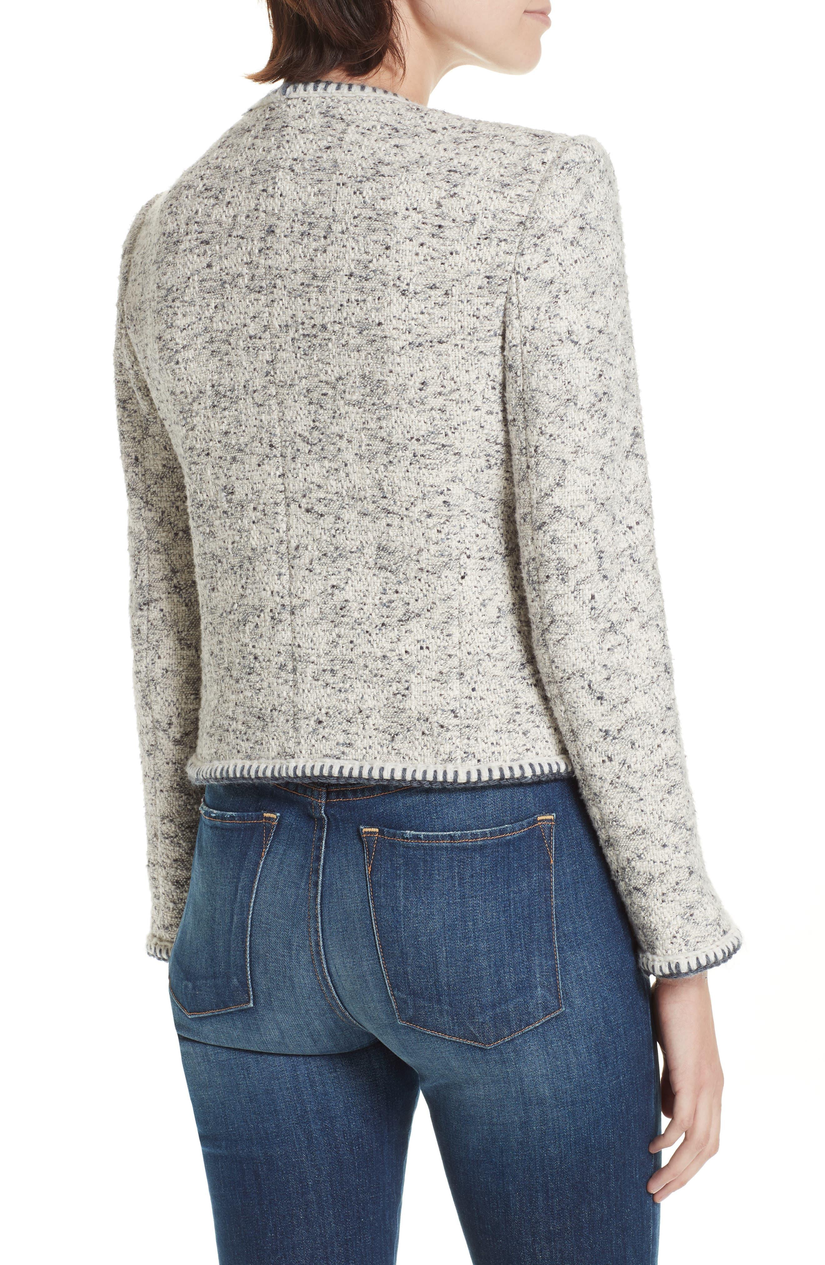 Speckled Tweed Jacket,                             Alternate thumbnail 2, color,                             054