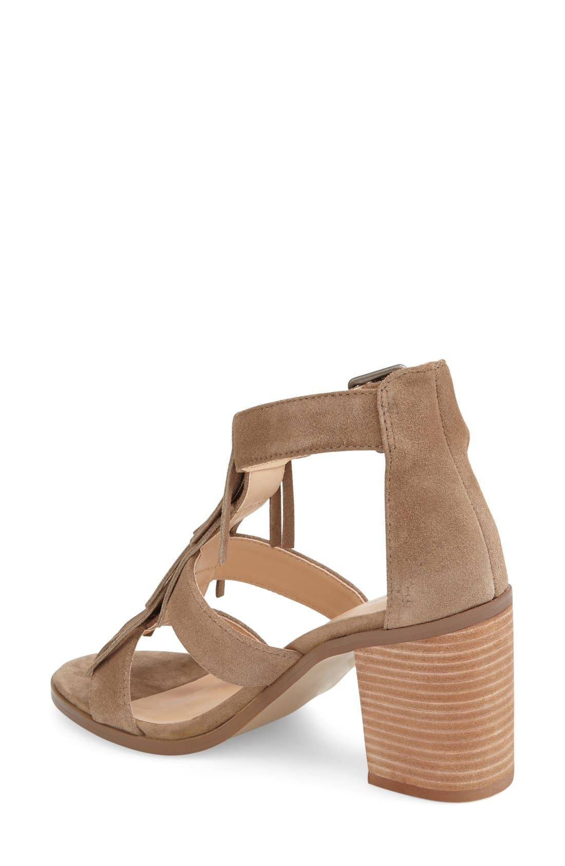 'Delilah' Fringe Sandal,                             Alternate thumbnail 30, color,