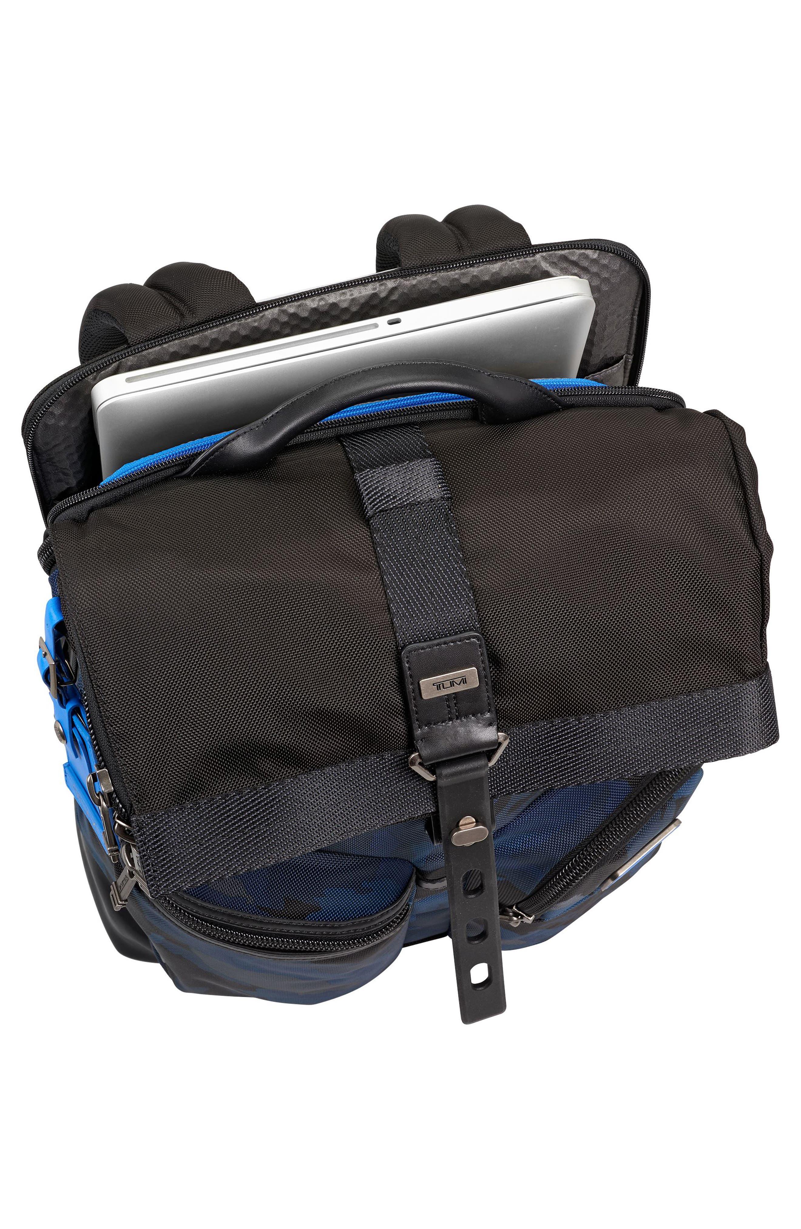 TUMI,                             Alpha Bravo Luke Roll Top Backpack,                             Alternate thumbnail 3, color,                             429