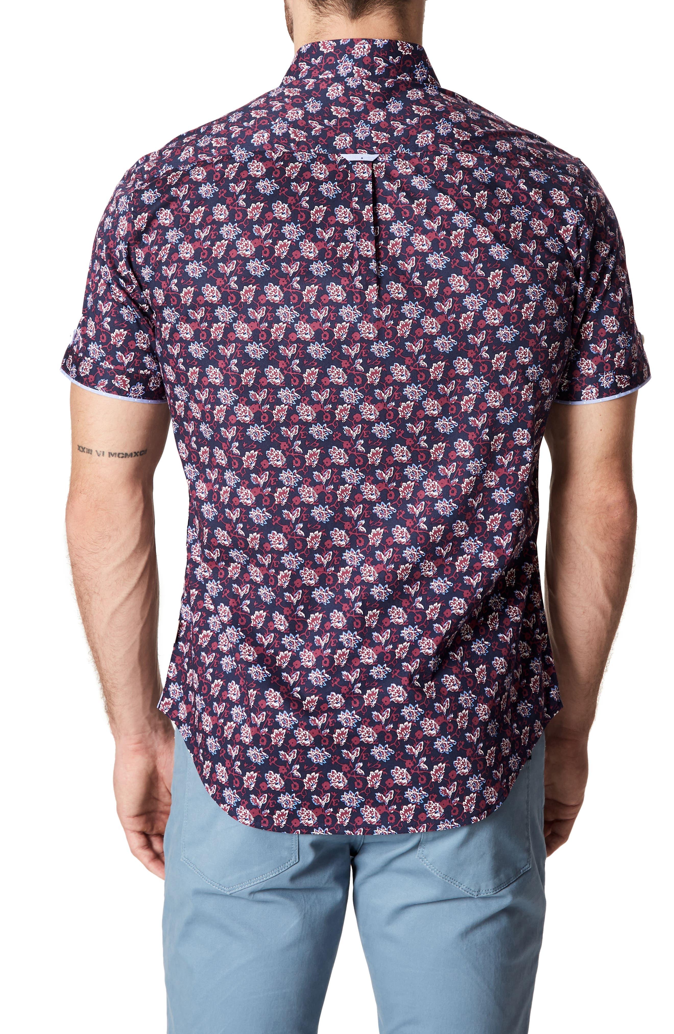 Fan Fare Woven Shirt,                             Alternate thumbnail 2, color,