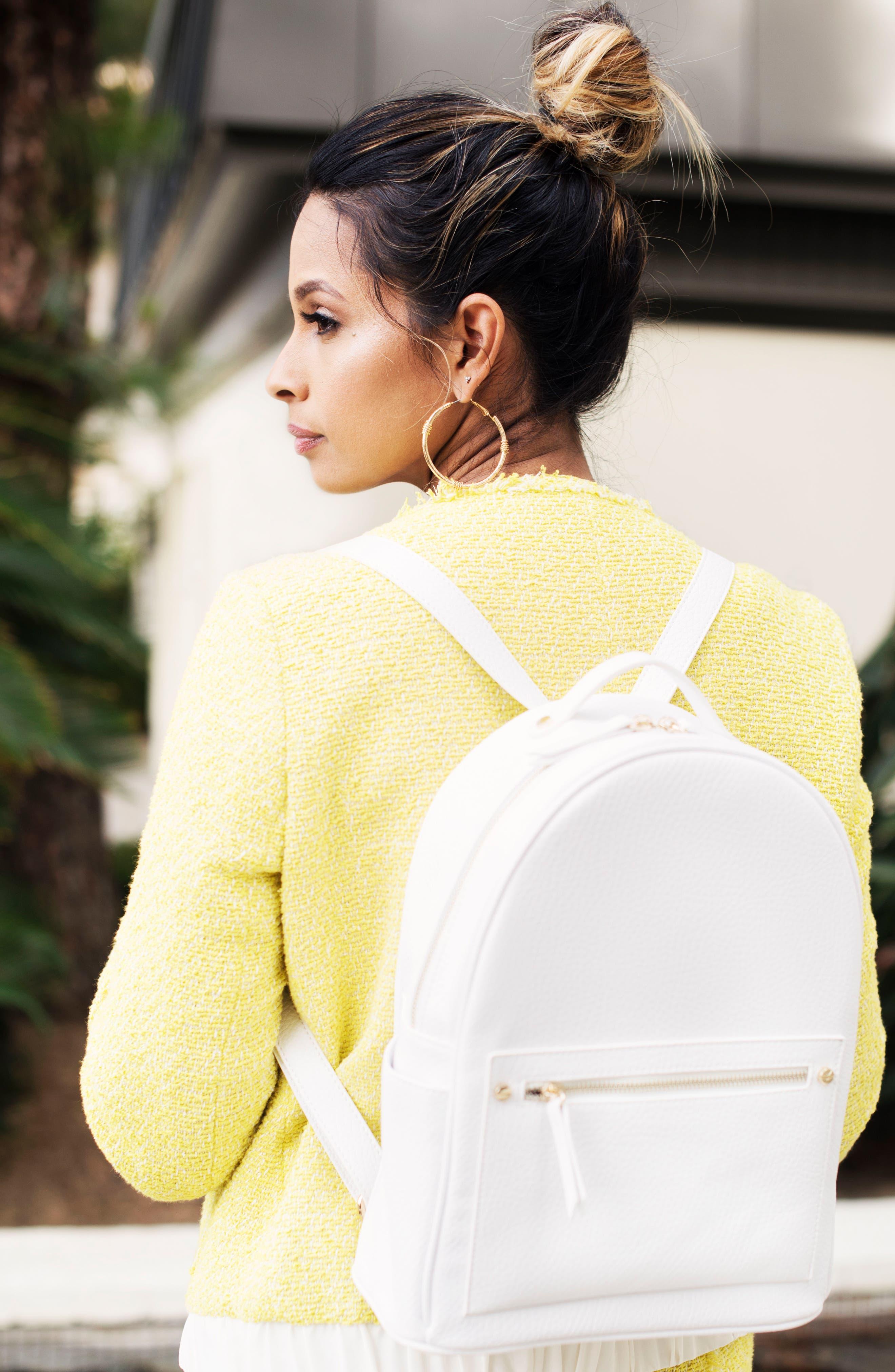 Mali + Lili Madison Vegan Leather Backpack,                             Main thumbnail 2, color,