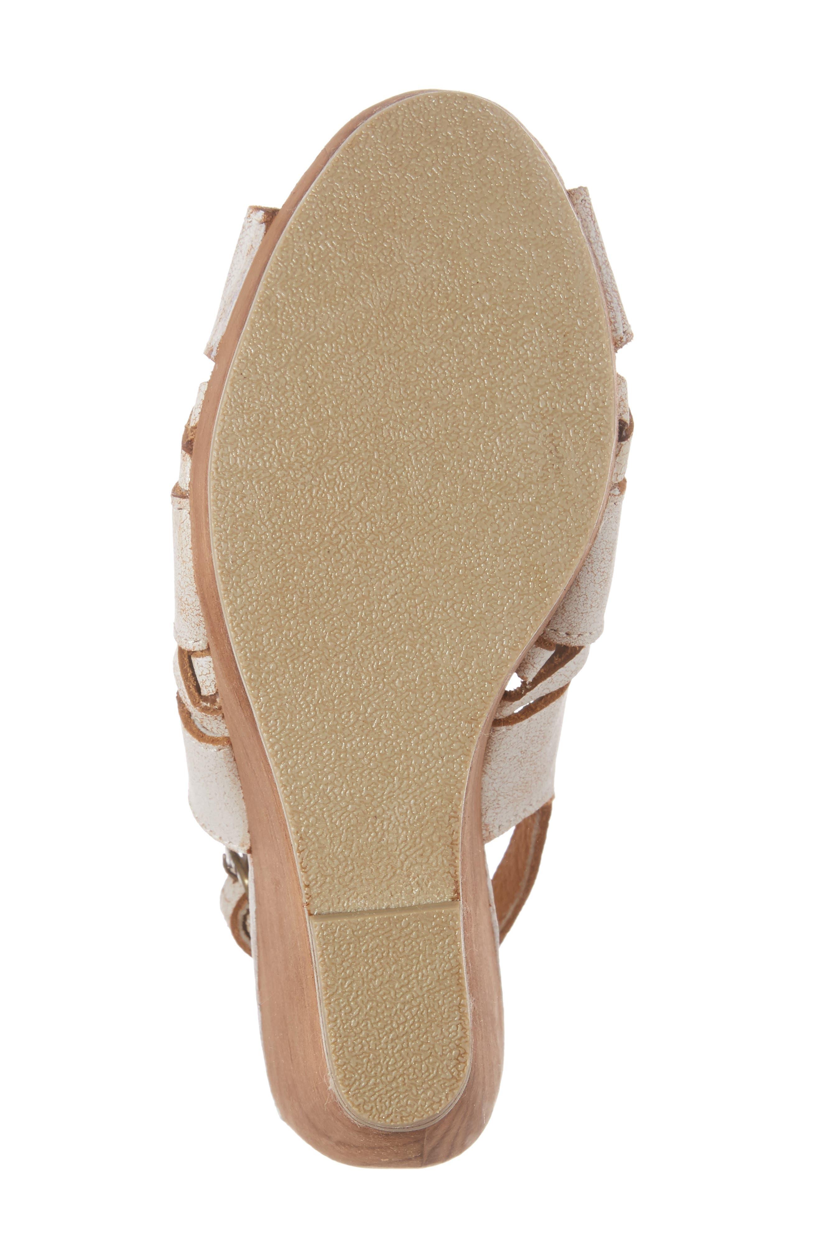 Sloane Platform Wedge Sandal,                             Alternate thumbnail 12, color,