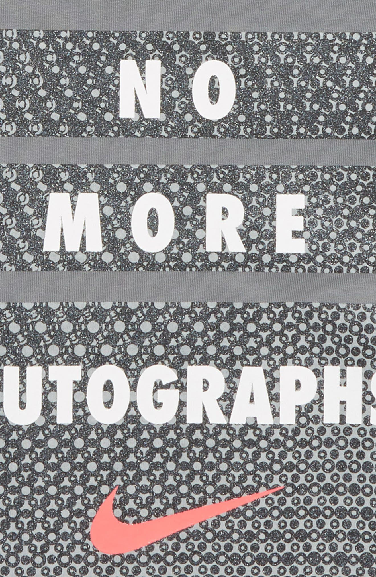 No More Autographs Tee,                             Alternate thumbnail 2, color,                             COOL GREY